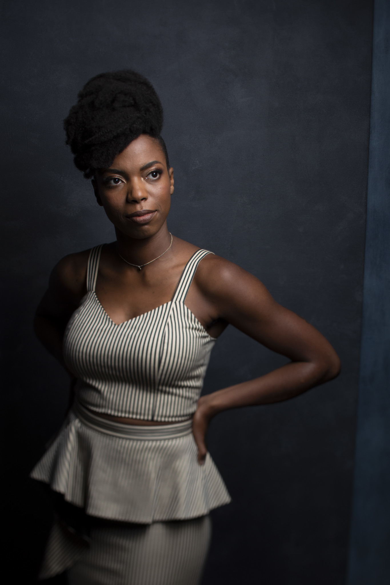 "TORONTO, ONT., CA — SEPTEMBER 11, 2018-- Actress Sasheer Zamata, from tje film ""The Weekend,"" photo"