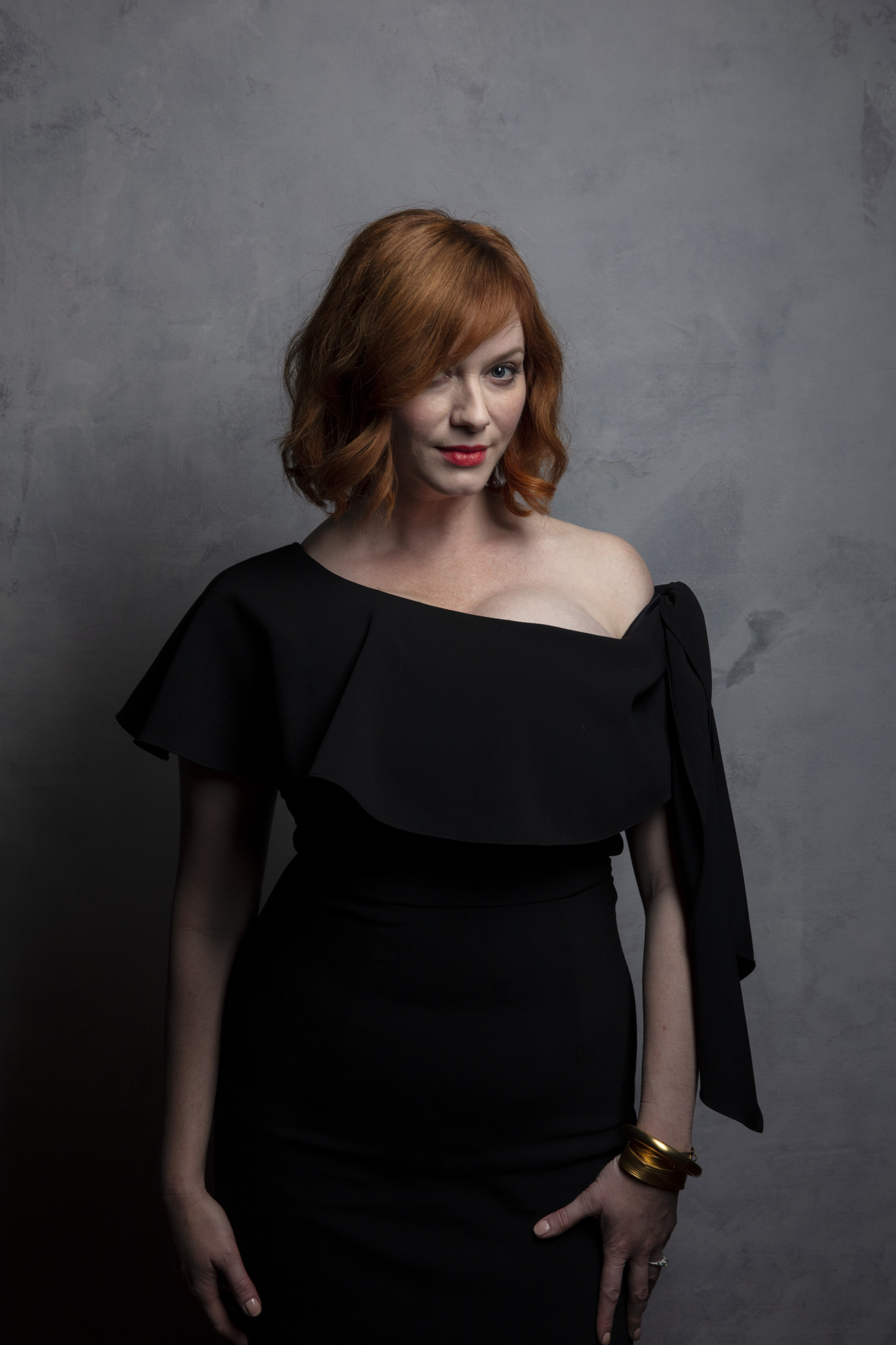 "TORONTO, ONT., CA — SEPTEMBER 10, 2018-- A ctress Christina Hendricks from the film ""American Woman"