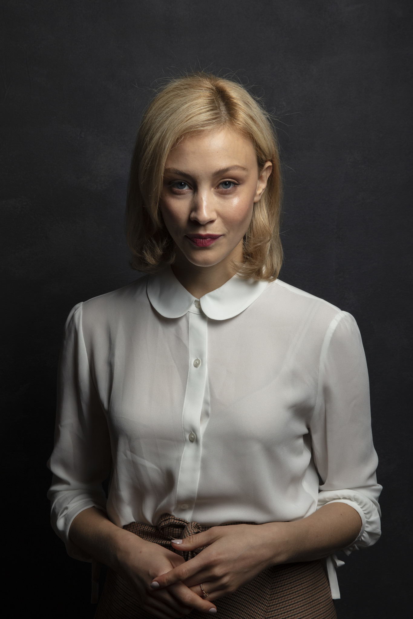 TORONTO, ONT., CA — SEPTEMBER 11, 2018-- Actress Sarah Gadon, from the film