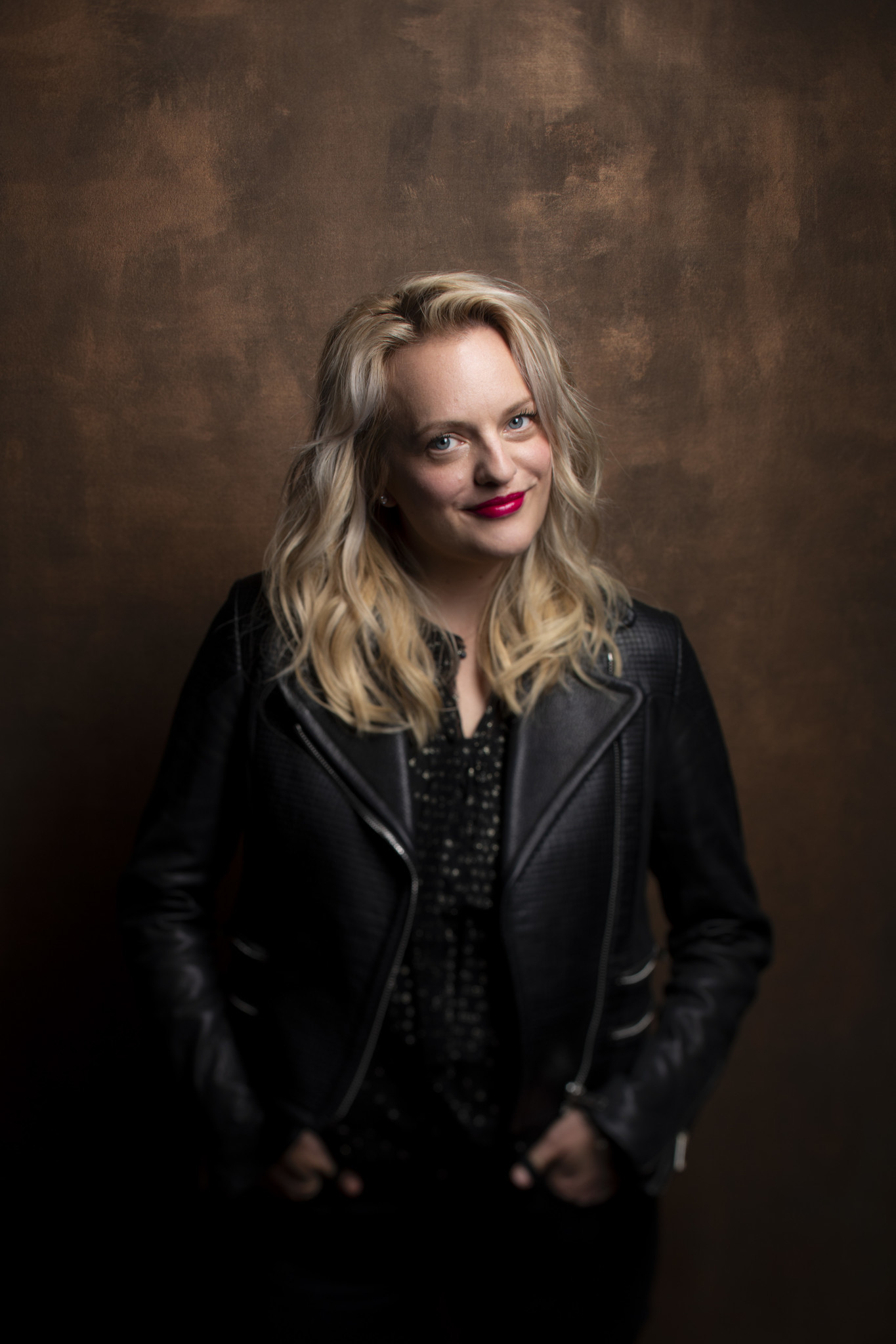 "TORONTO, ONT., CA — SEPTEMBER 10, 2018-- Actress Elisabeth Moss, from ""Her Smell,"" photographed in"
