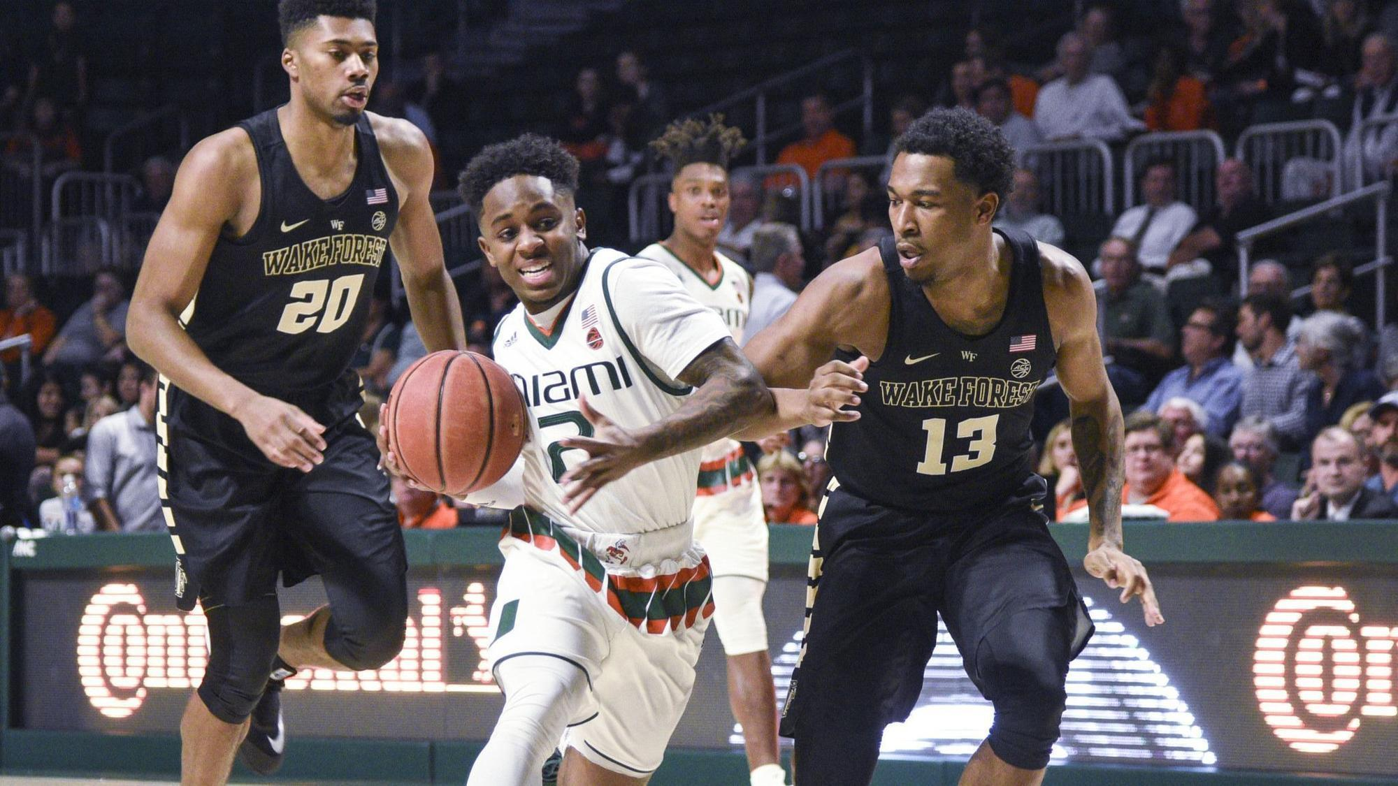 Hurricanes Men S Basketball Team To Face Acc Road Tests At Duke