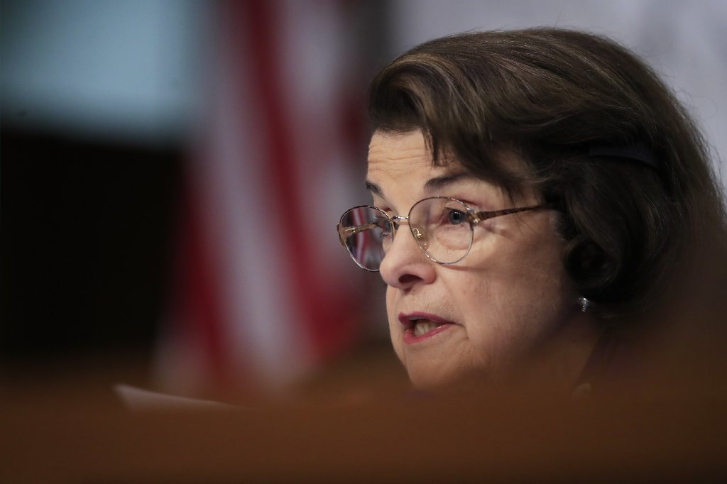 Senate Intelligence Committee Sen. Dianne Feinstein