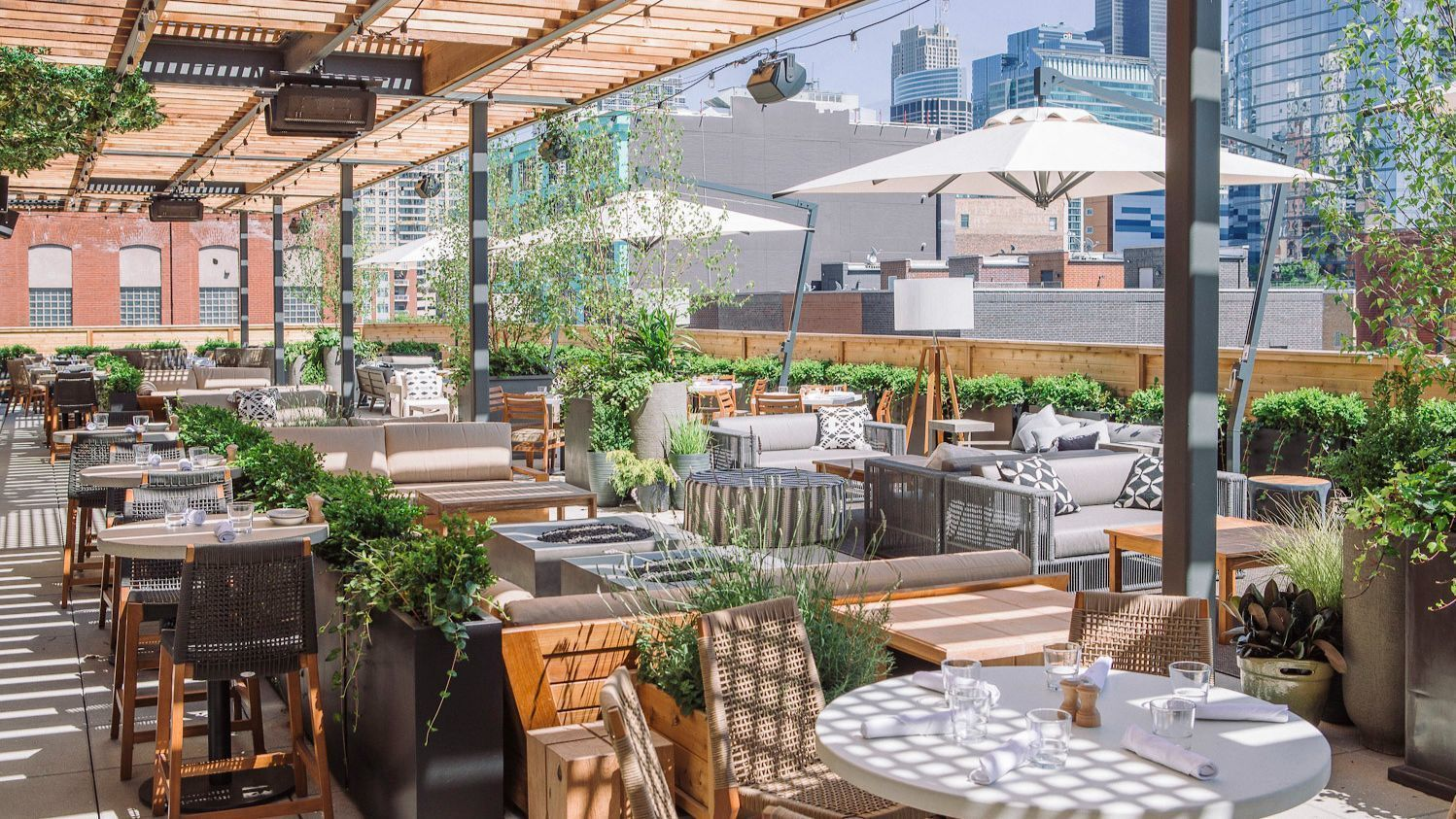 chicago patios  rooftops