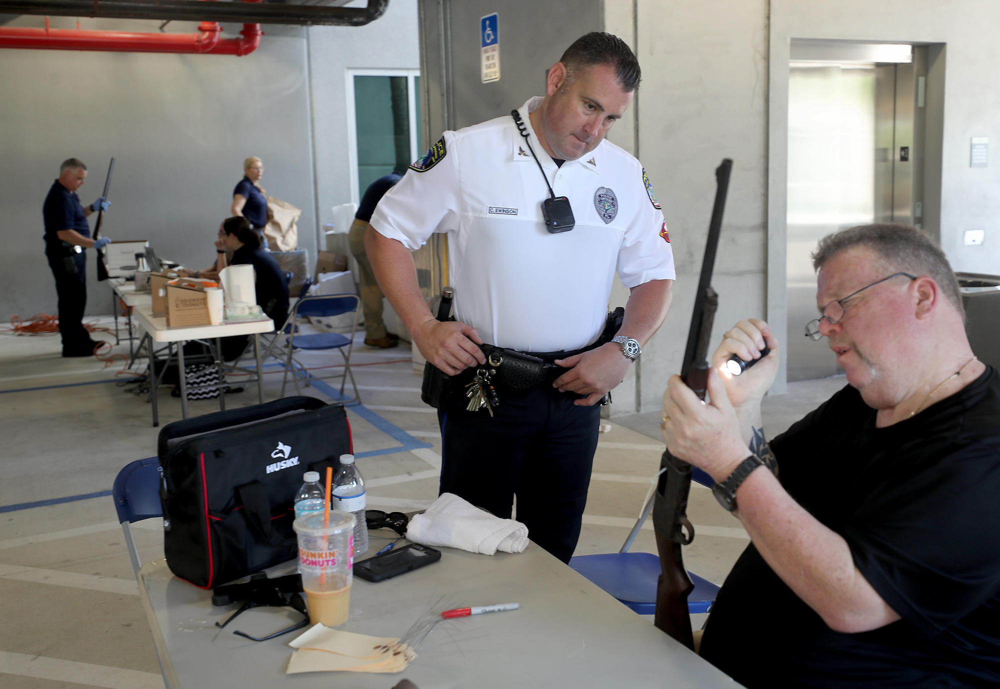 Fewer guns on the street: Weapons turned in during event sponsored by MSD parents