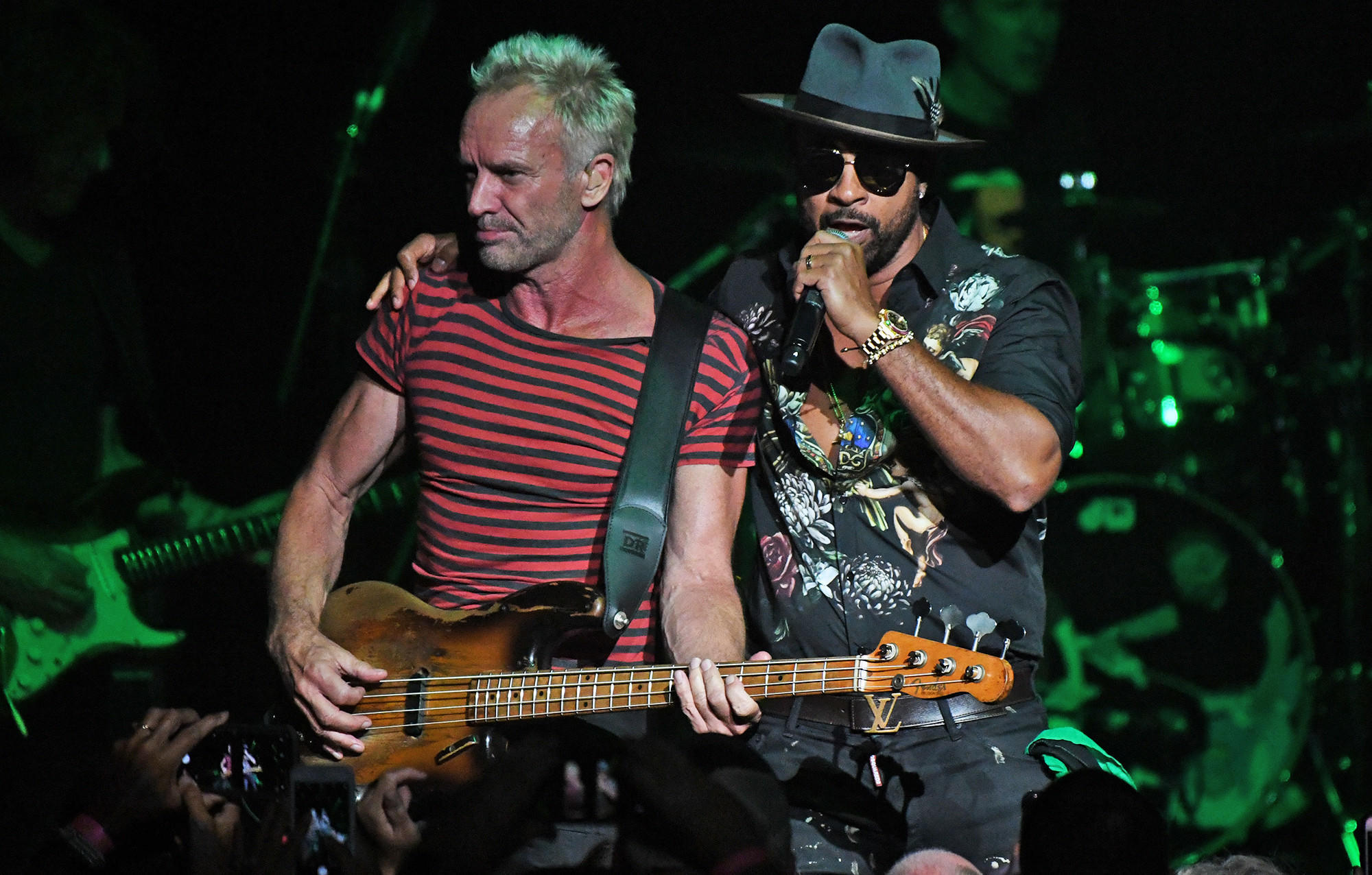 Sting And Gy Share Hits During Concert At Fillmore Miami Beach Photos Southflorida