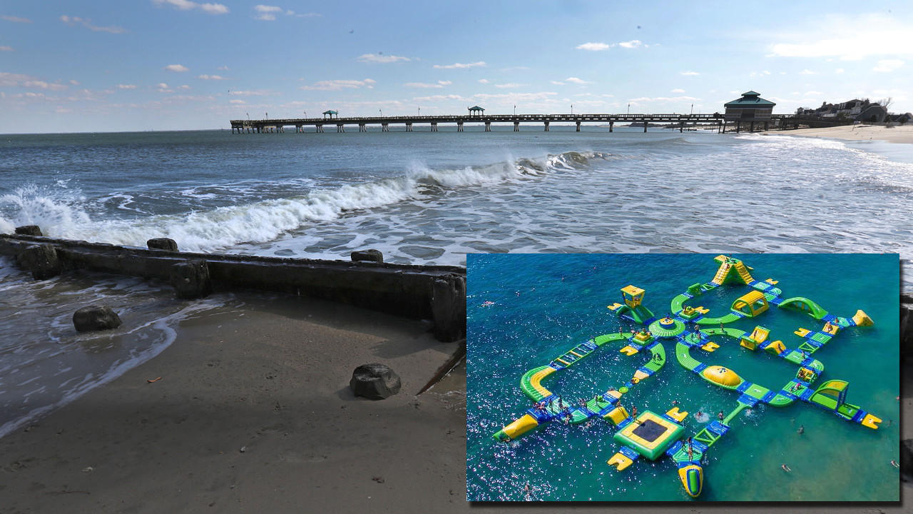 Hampton Water Park Off Buckroe Beach S Sline Could Open By Summer Daily Press