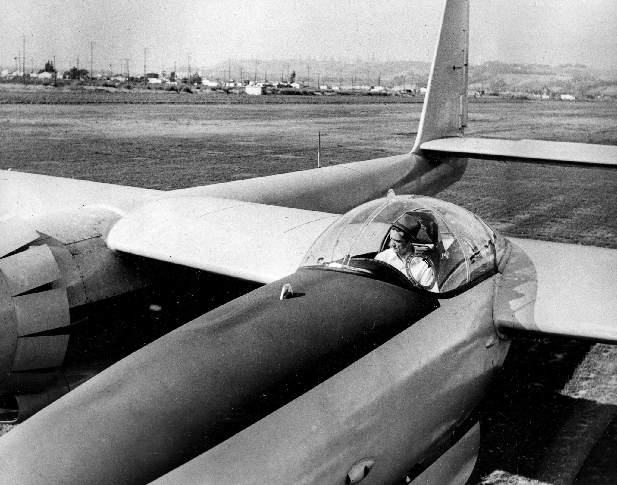 From the Archives: Howard Hughes is injured in 1946 plane