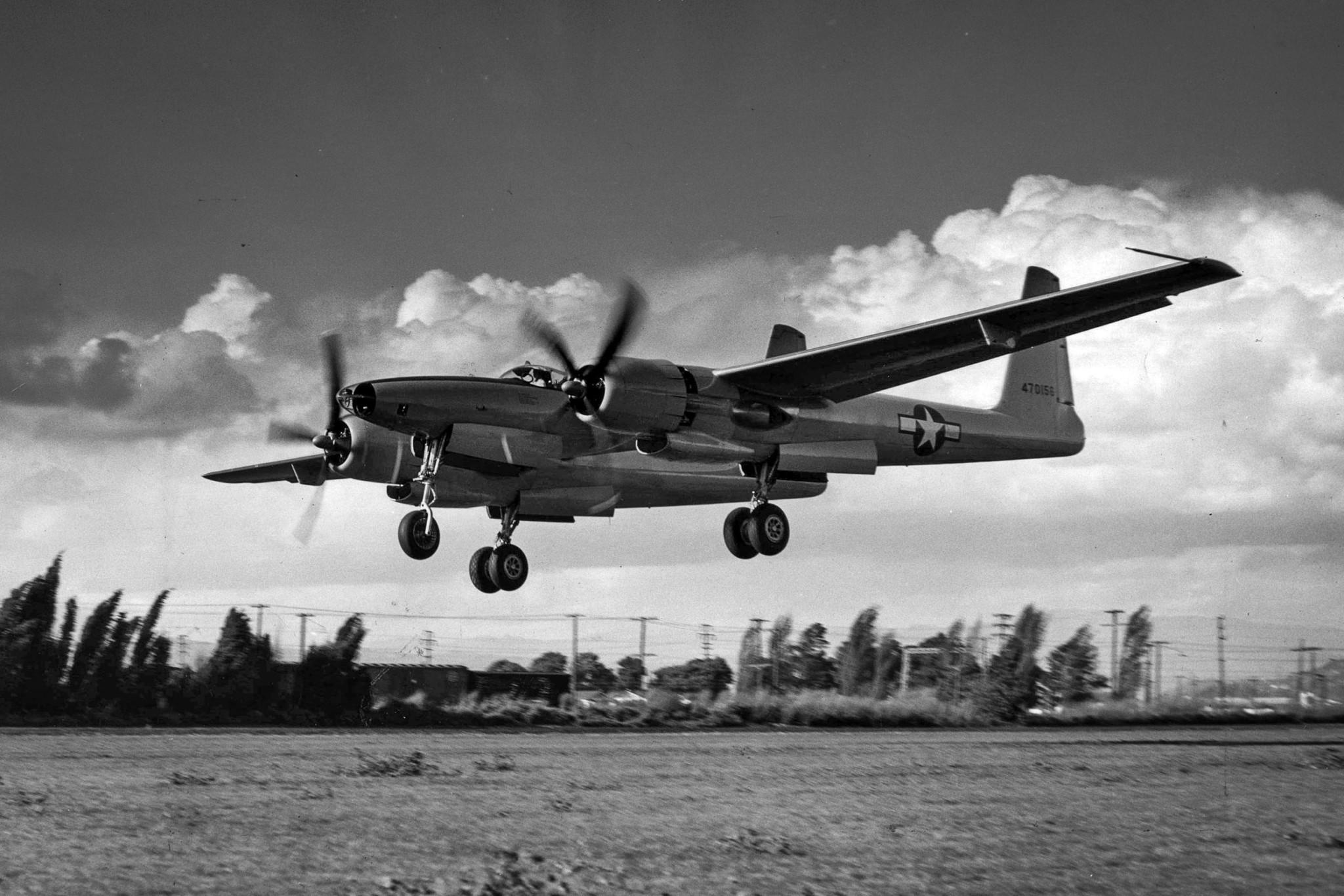 Second XF-11 prototype