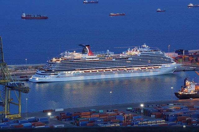 Carnival S Newest Cruise Ship Makes Florida Debut This