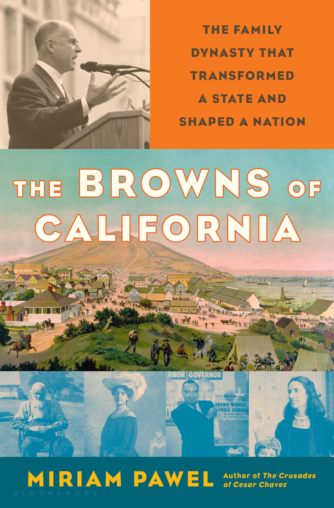 'The Browns of California' by Miriam Pawell