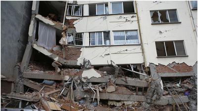 Trágico aniversario: edificios de Ciudad de México devastados por sismo
