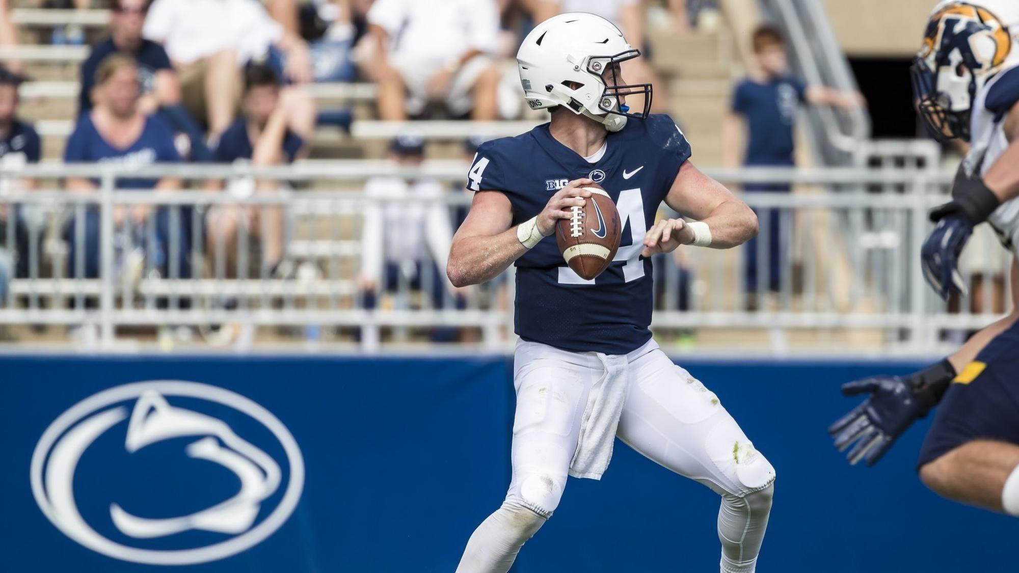 Penn State S Perfect Backup Quarterback Sean Clifford S Folkloric Start The Morning Call