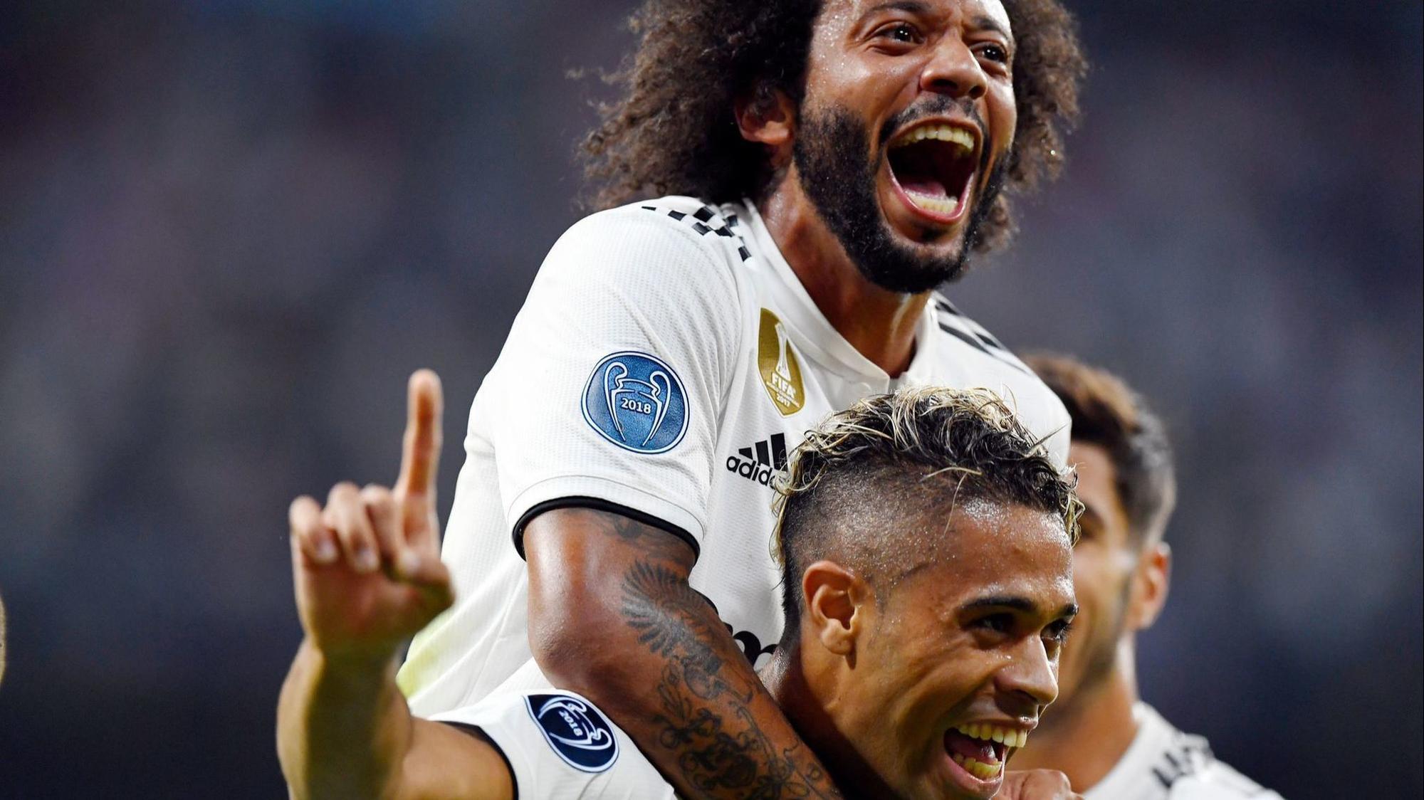 Resultado de imagen para El Real Madrid lamina a la Roma en su inicio en 'Champions'