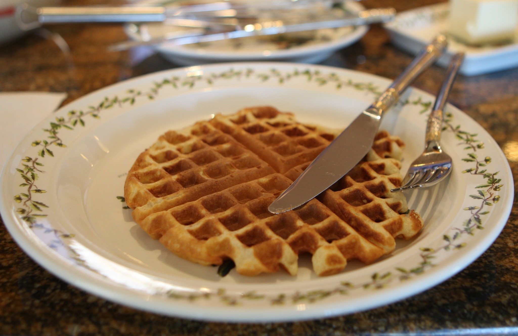 The waffle as envisioned by the waffle master's son