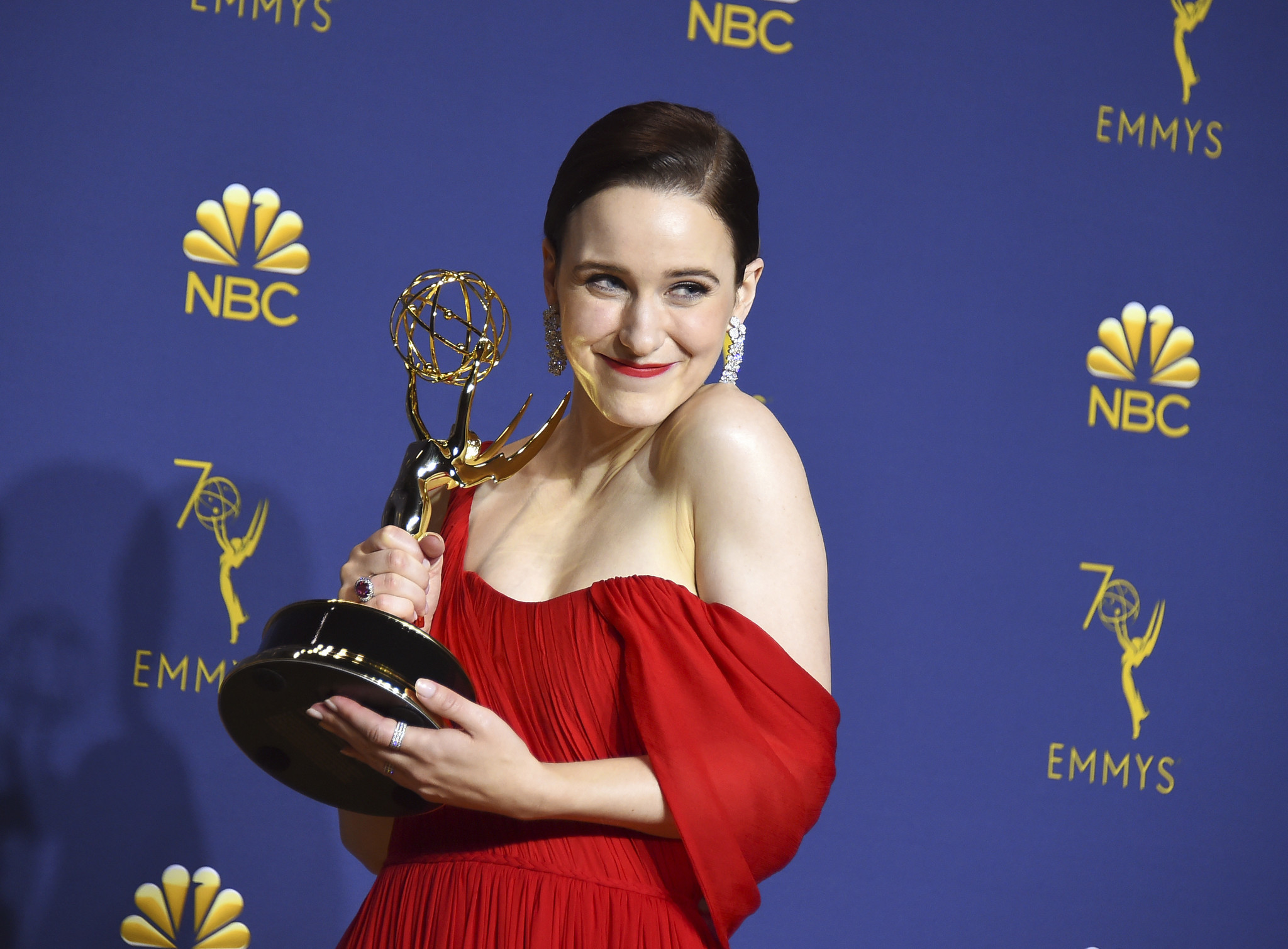rachel brosnahan on finding mrs maisel and her marvelous emmys