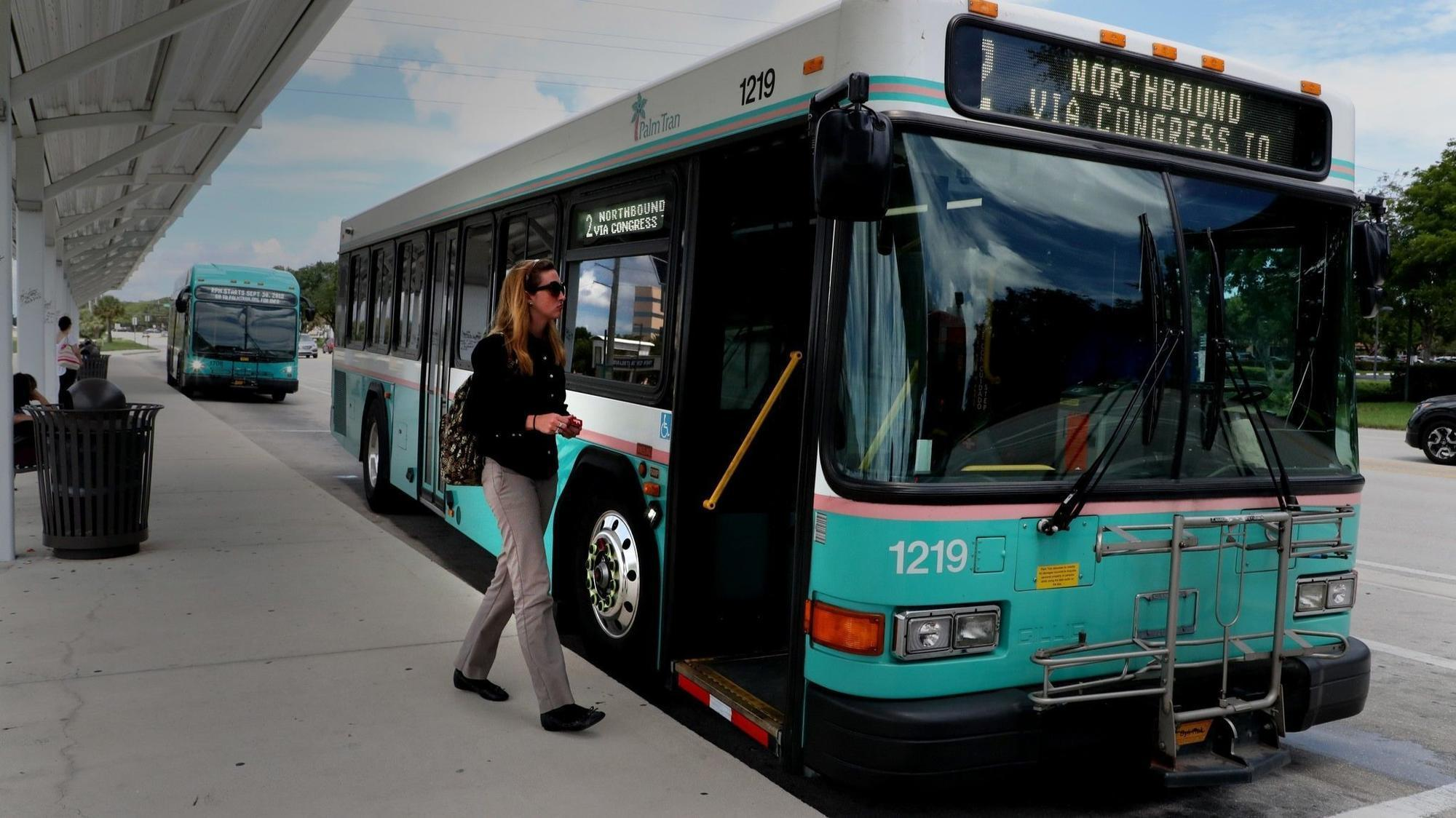big changes arrive for palm tran: speedier pickup times, altered