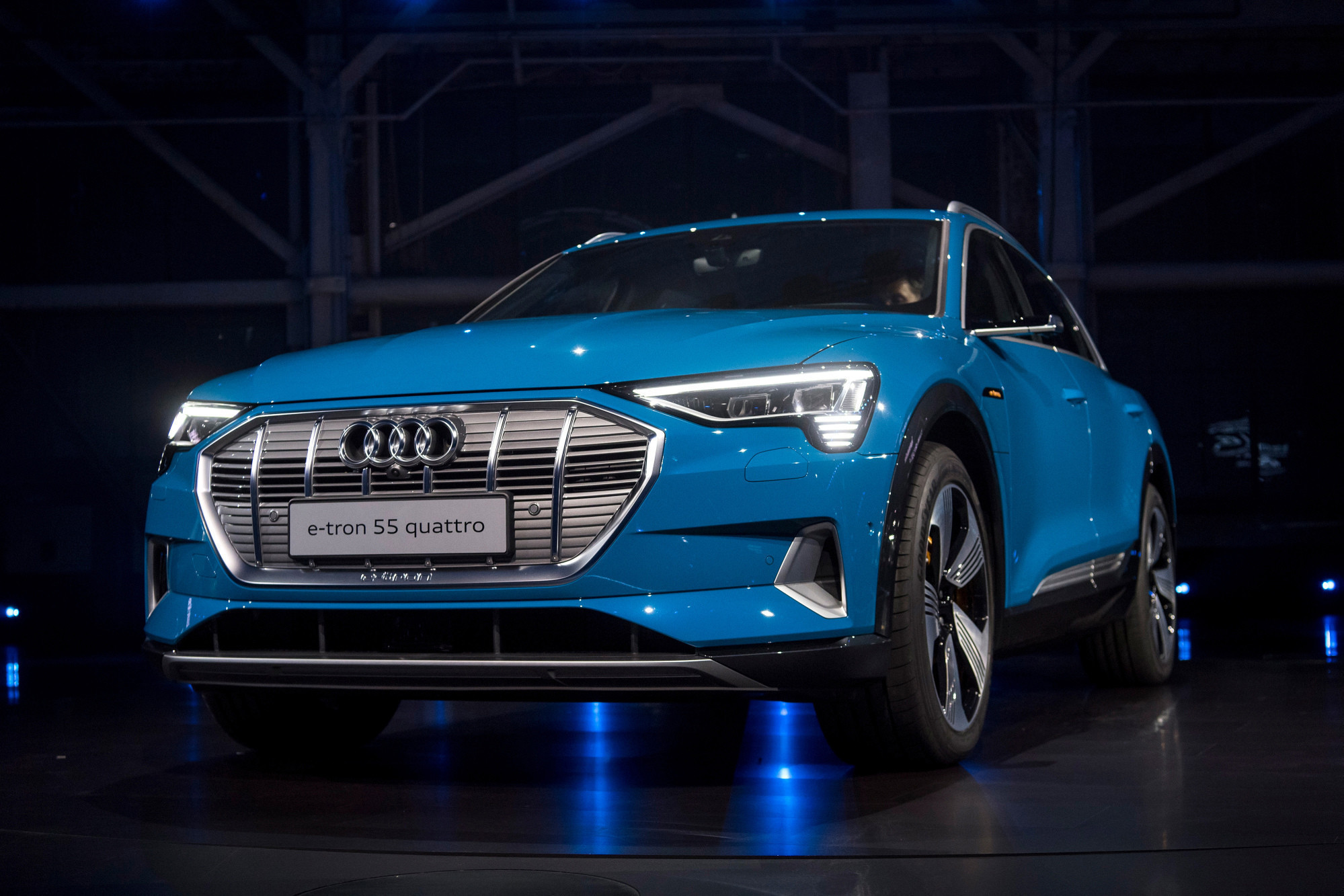 Audi Launches E Tron Electric Crossover
