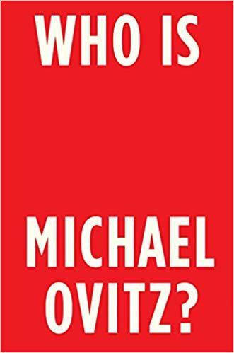 """Cover of the autobiography, """"Who is Michael Ovitz?"""""""
