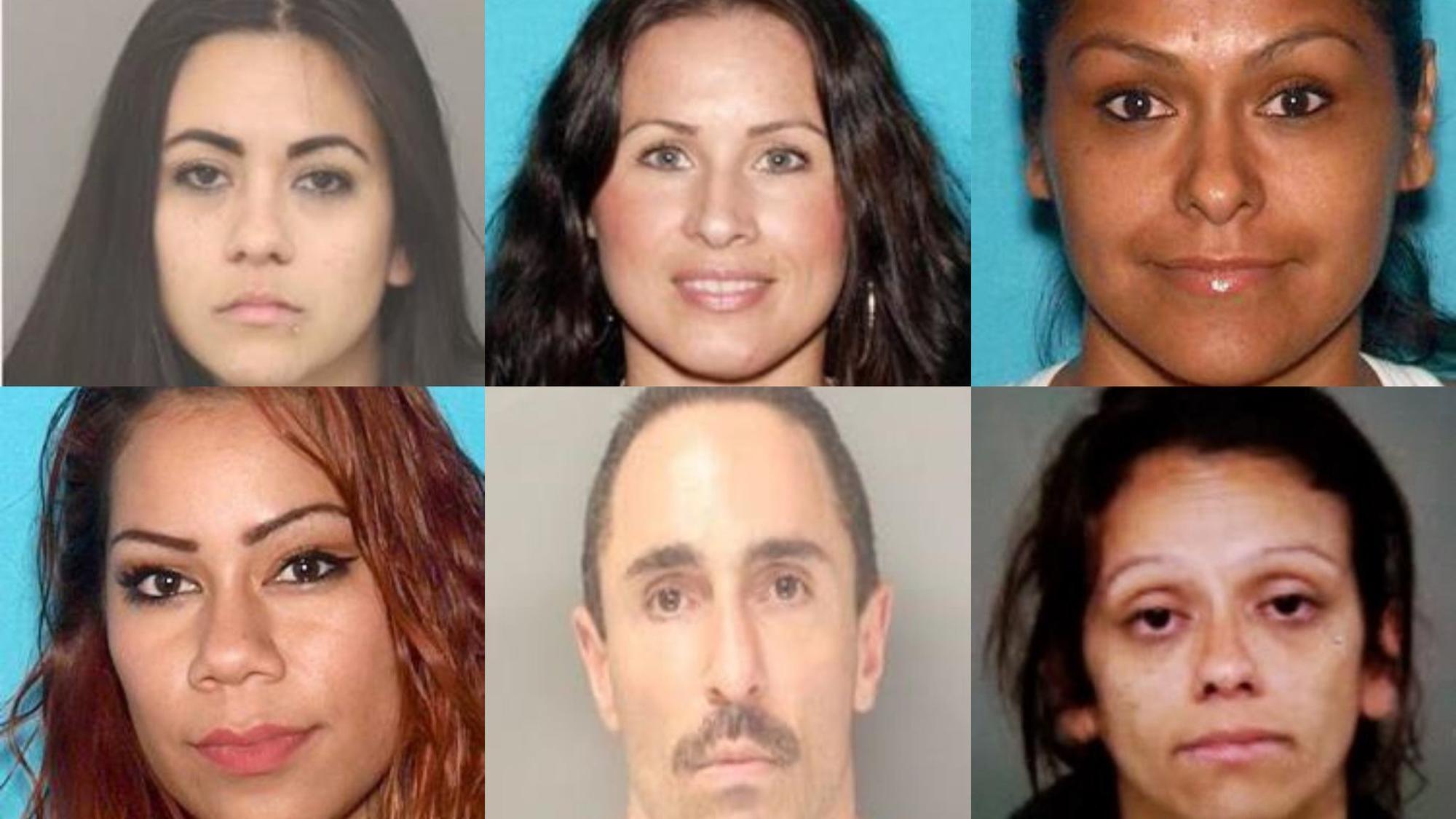 predawn raids target street gangs mexican mafia prison gang 26 hit