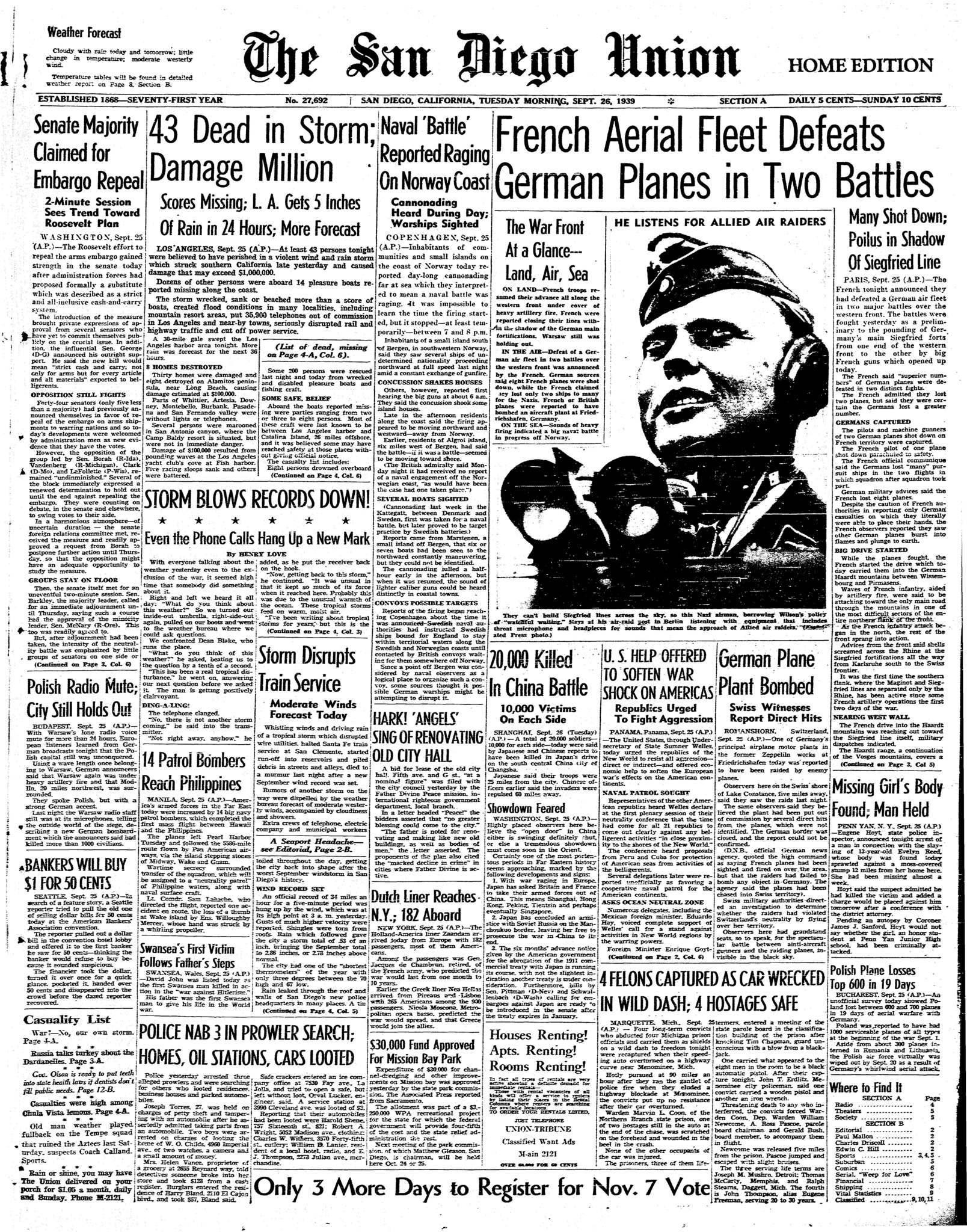 September 26, 1939