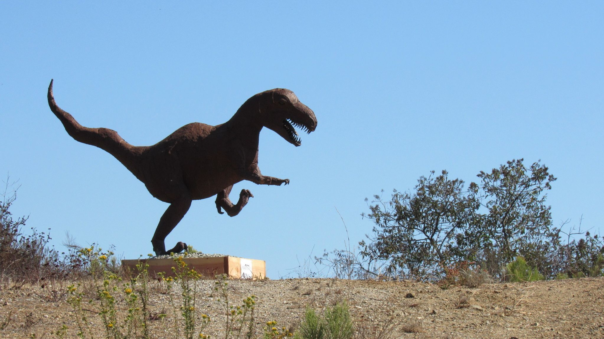 where did that t rex come from in la mesa the san diego union tribune