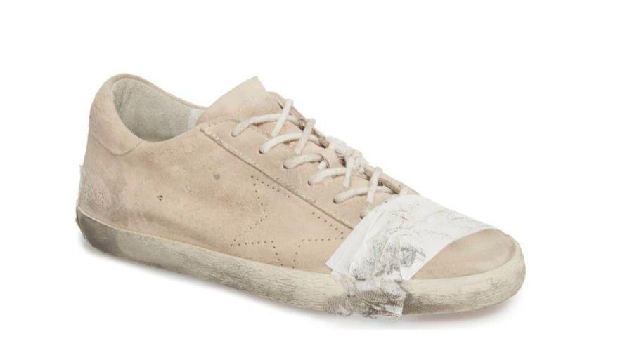 b8a6c6cdee132 Nordstrom s  530 distressed sneaker is the latest ridiculous example of  trashion - Orlando Sentinel