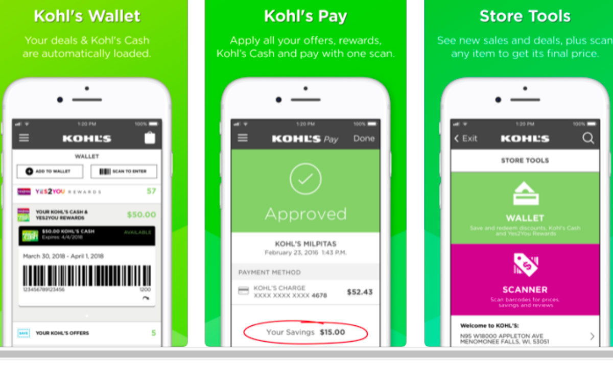 free $10 gift with kohl's app - sun sentinel