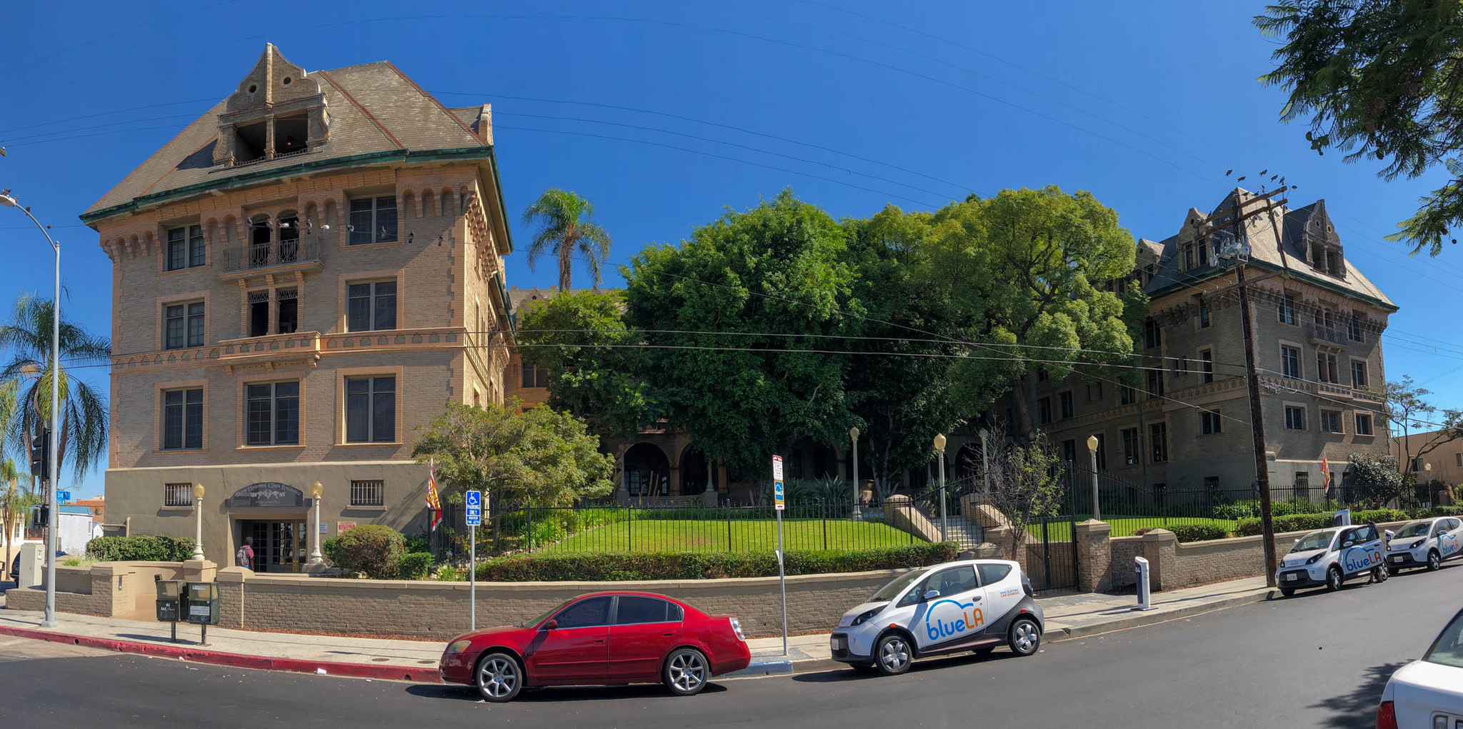 Sep. 24, 2018: Mary Andrews Clark Memorial House at 3rd Street and Loma Drive west of downtown Los A