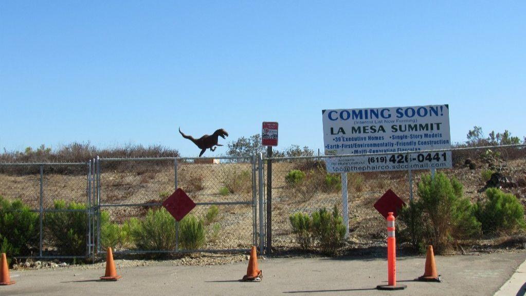 t rex mystery solved in la mesa owner fesses up the san diego