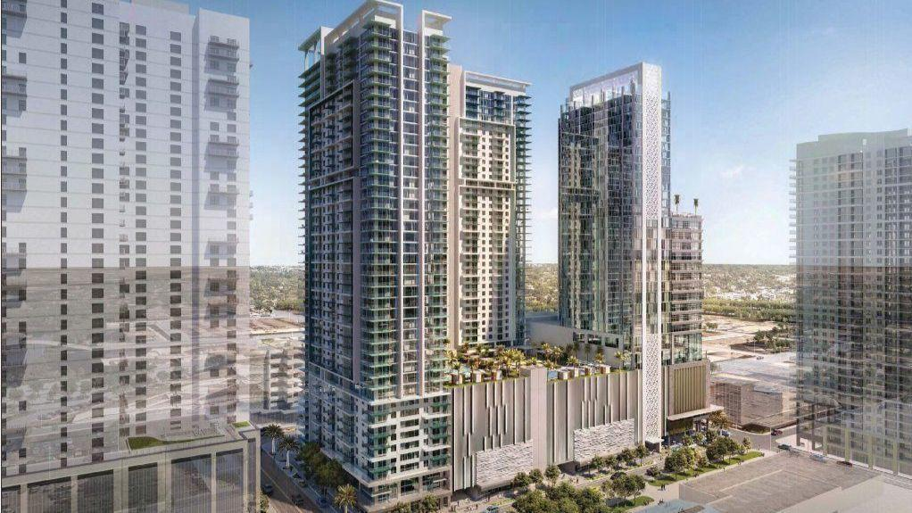 Giant Riverparc Square Towers Approved For Downtown Fort