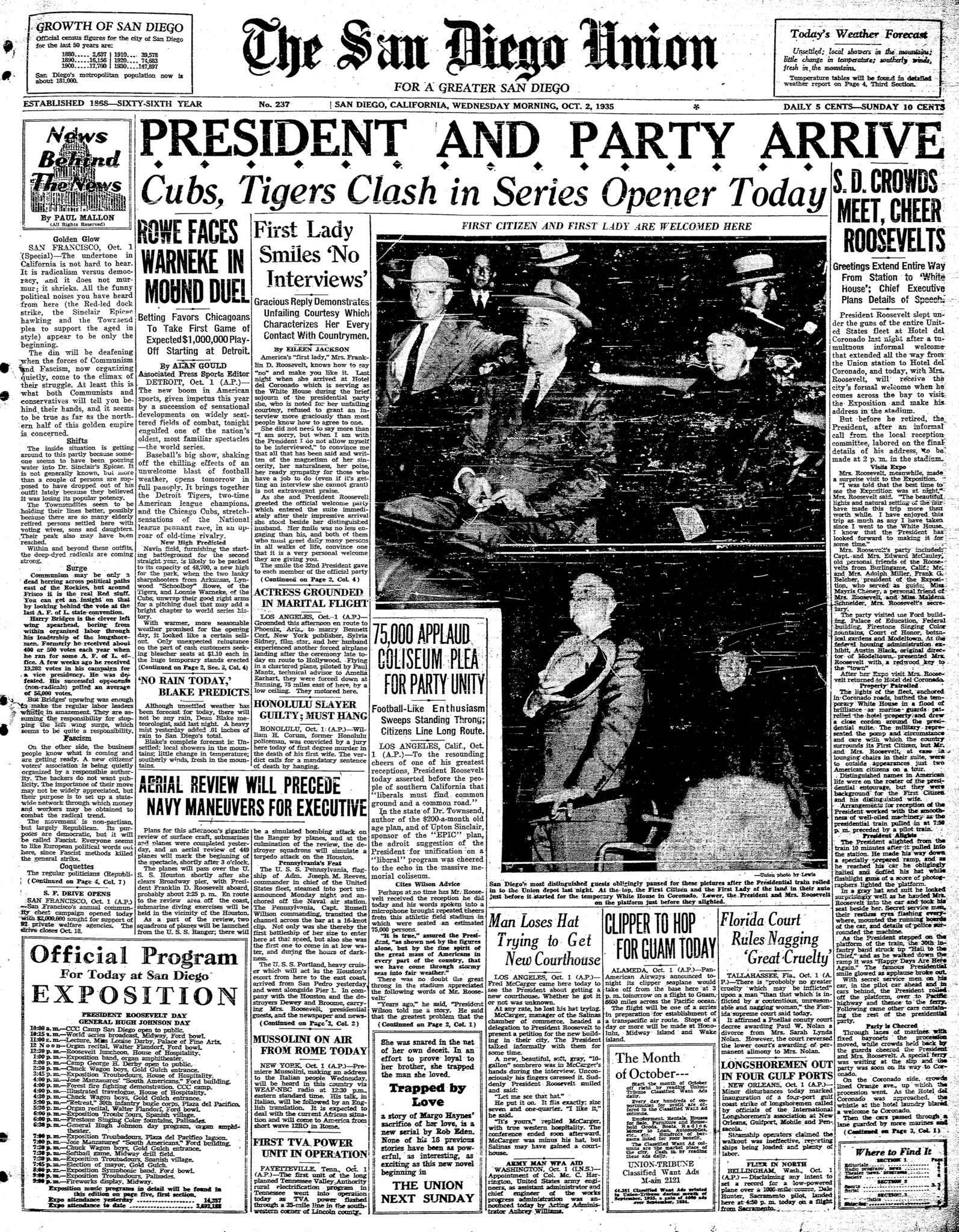 October 2, 1935