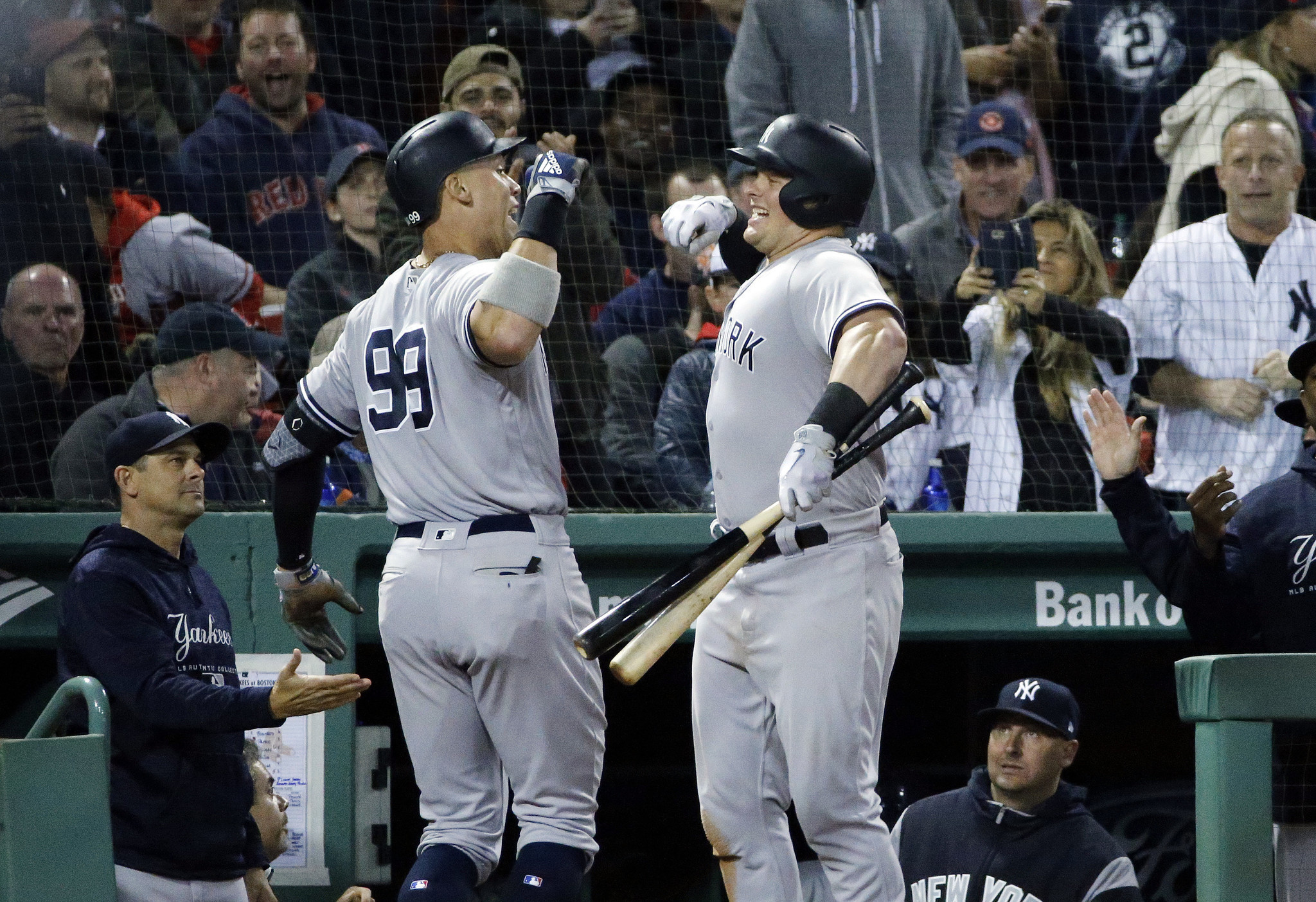 bc42cfeeed7 Yankees Pound Red Sox 11-6