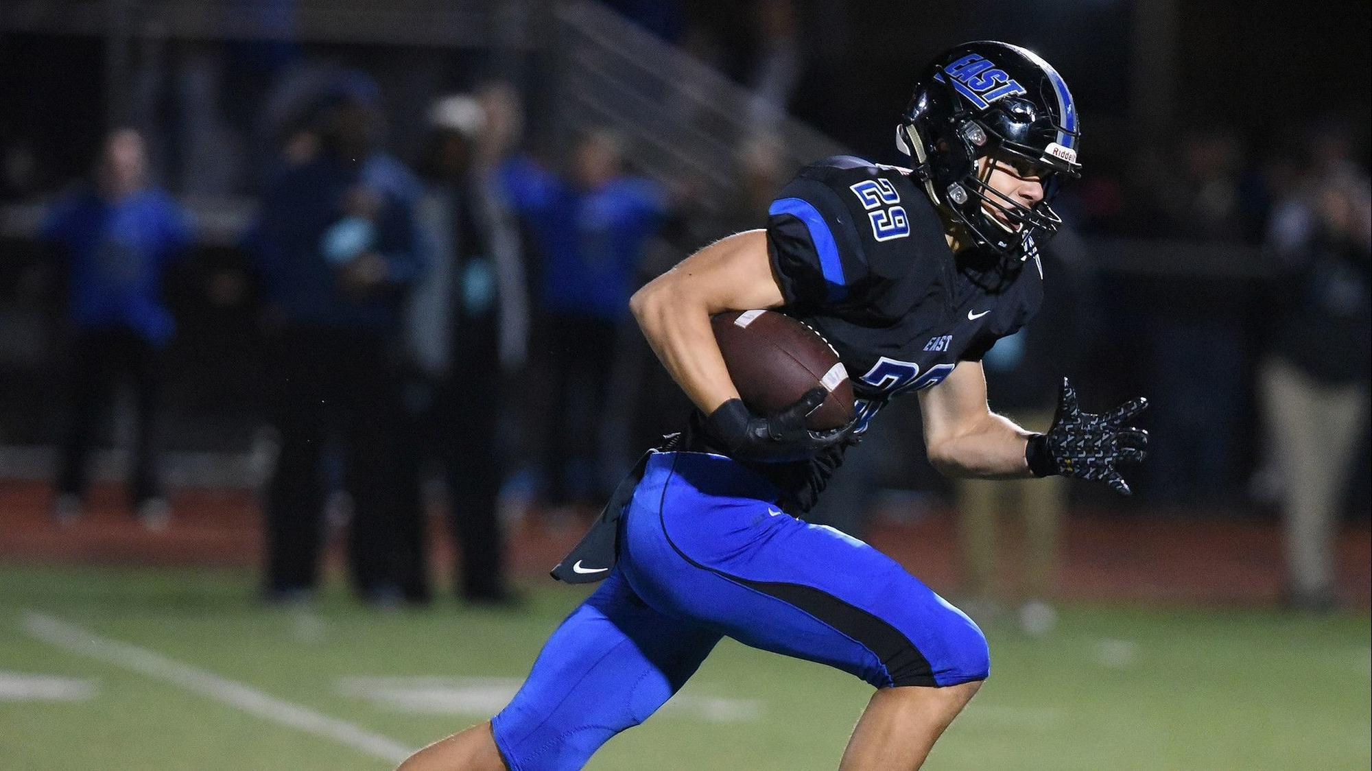 Righteous Ritter Senior Receiver Jackson Ritter Snags 3 Tds As