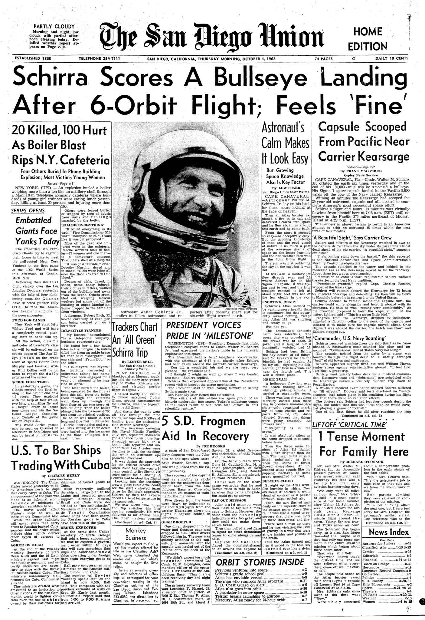 October 4, 1962