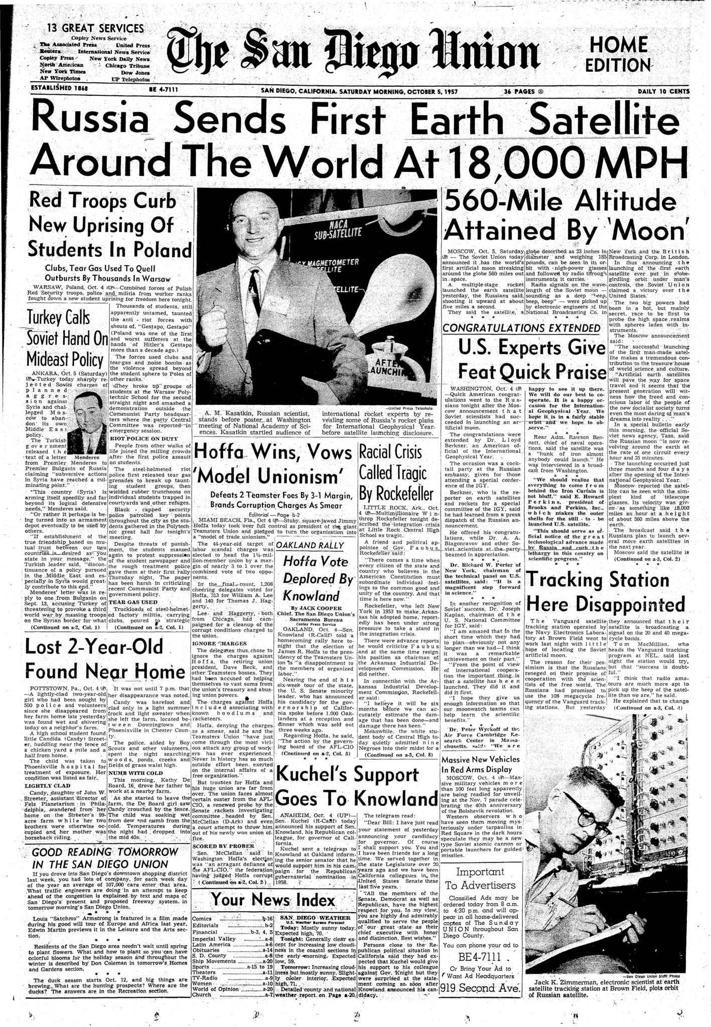 October 5, 1957