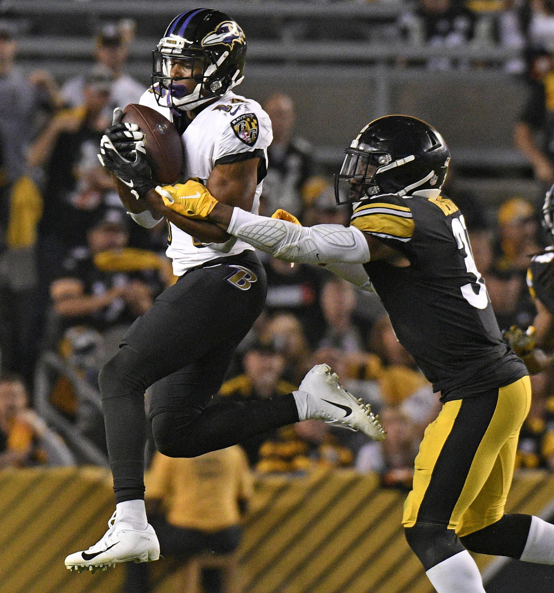 b59c9a88b22 Five Things We Learned from the Ravens  26-14 win over the Pittsburgh  Steelers - Baltimore Sun