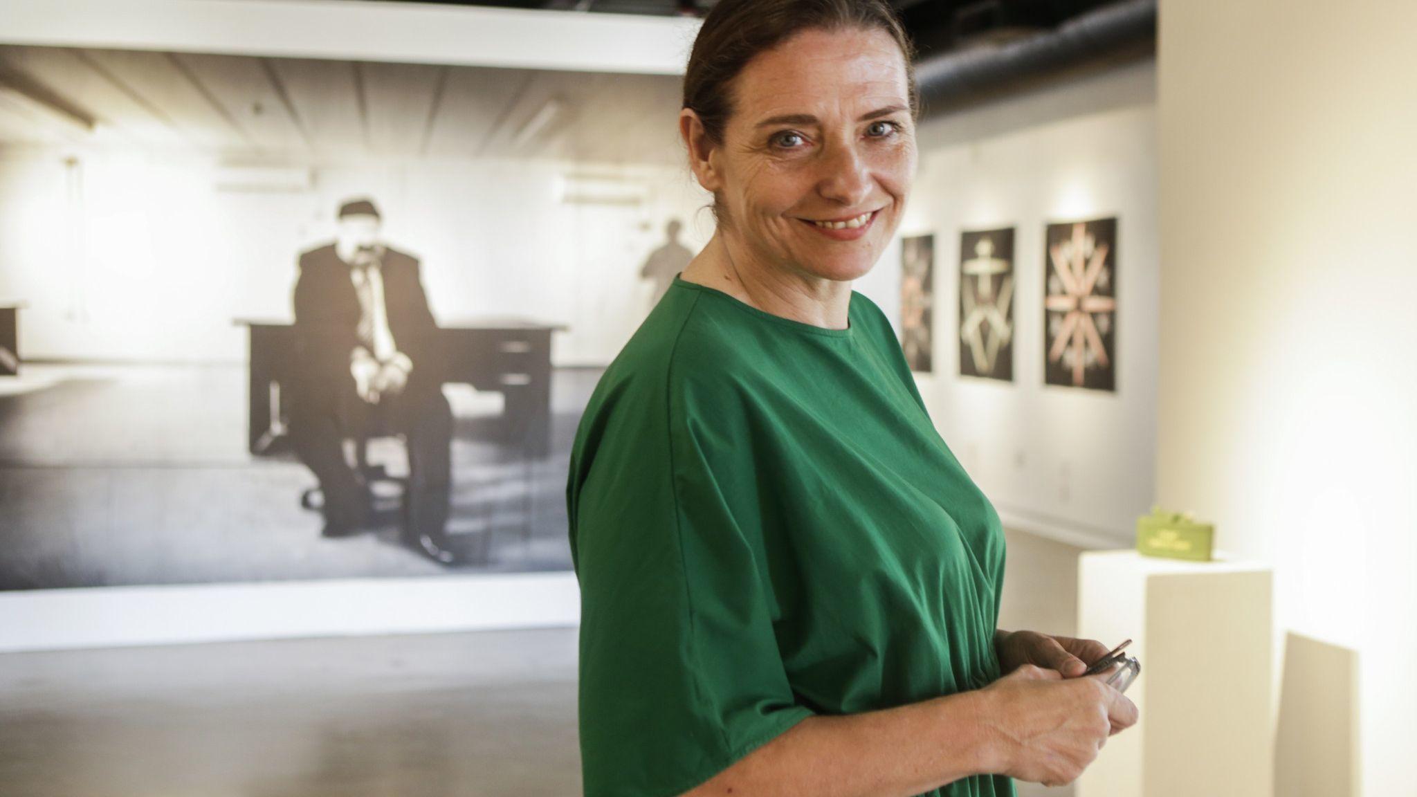 Gallerist Janet Owen Driggs