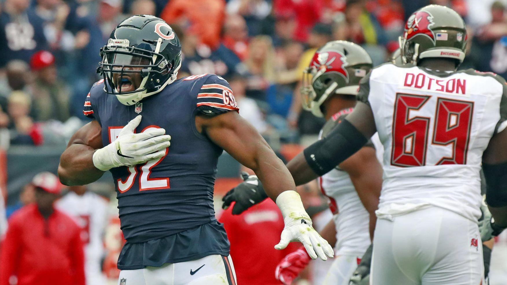 d3ec1a29f0e Real Talk: How high can the Bears defense fly after a brilliant first  month? - Chicago Tribune