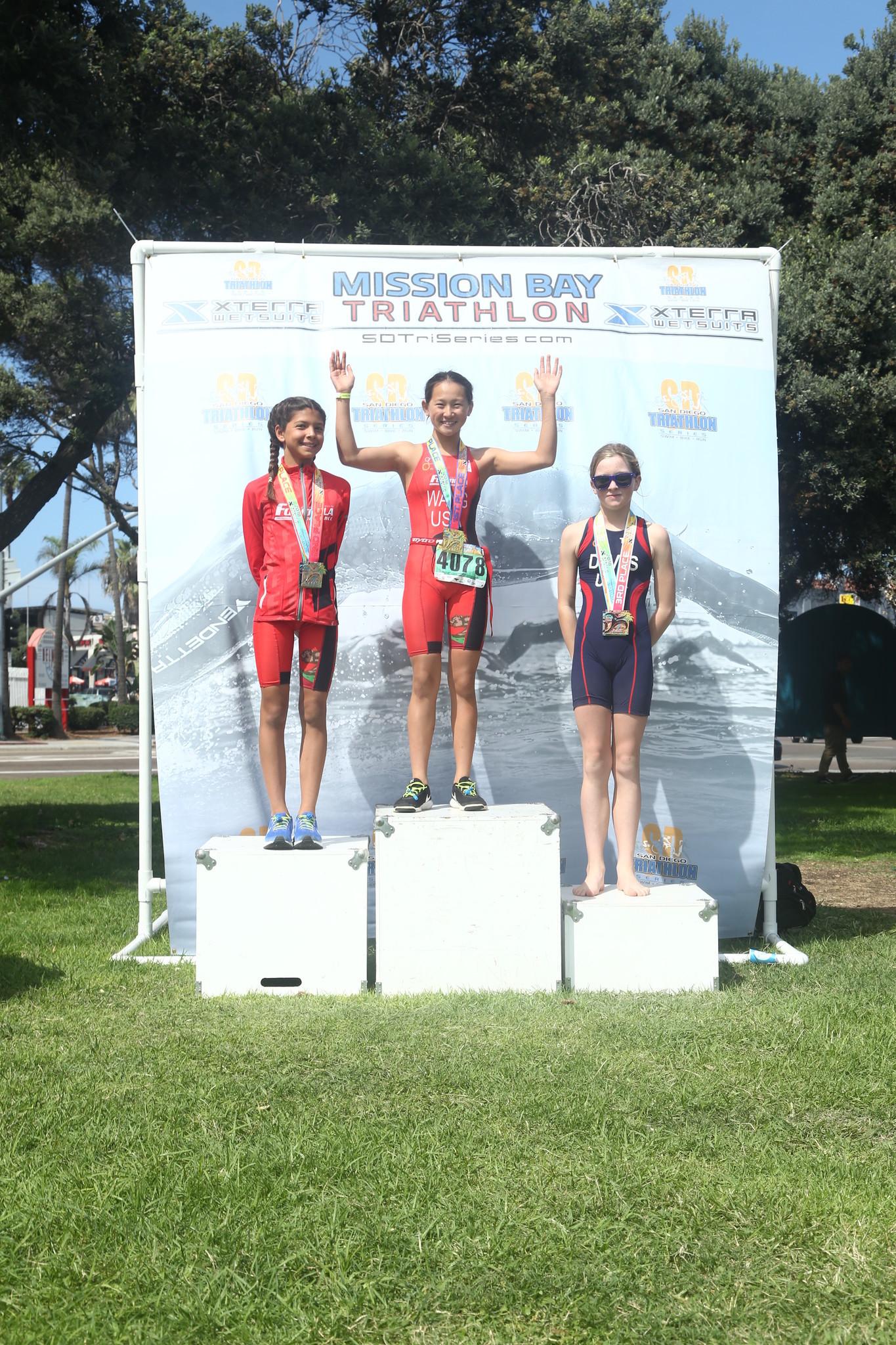 Natalie triathlon