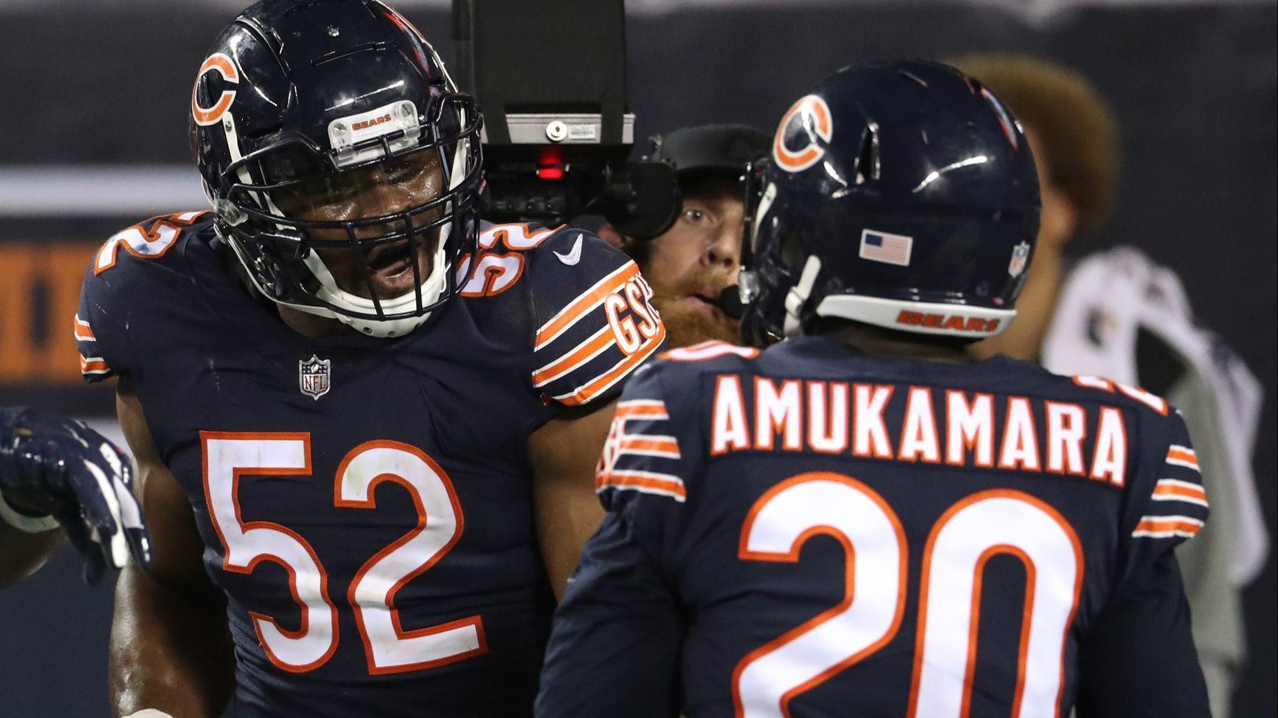 505dc3c315a Bears at the break: Khalil Mack's dominance has elevated a suddenly special  defense
