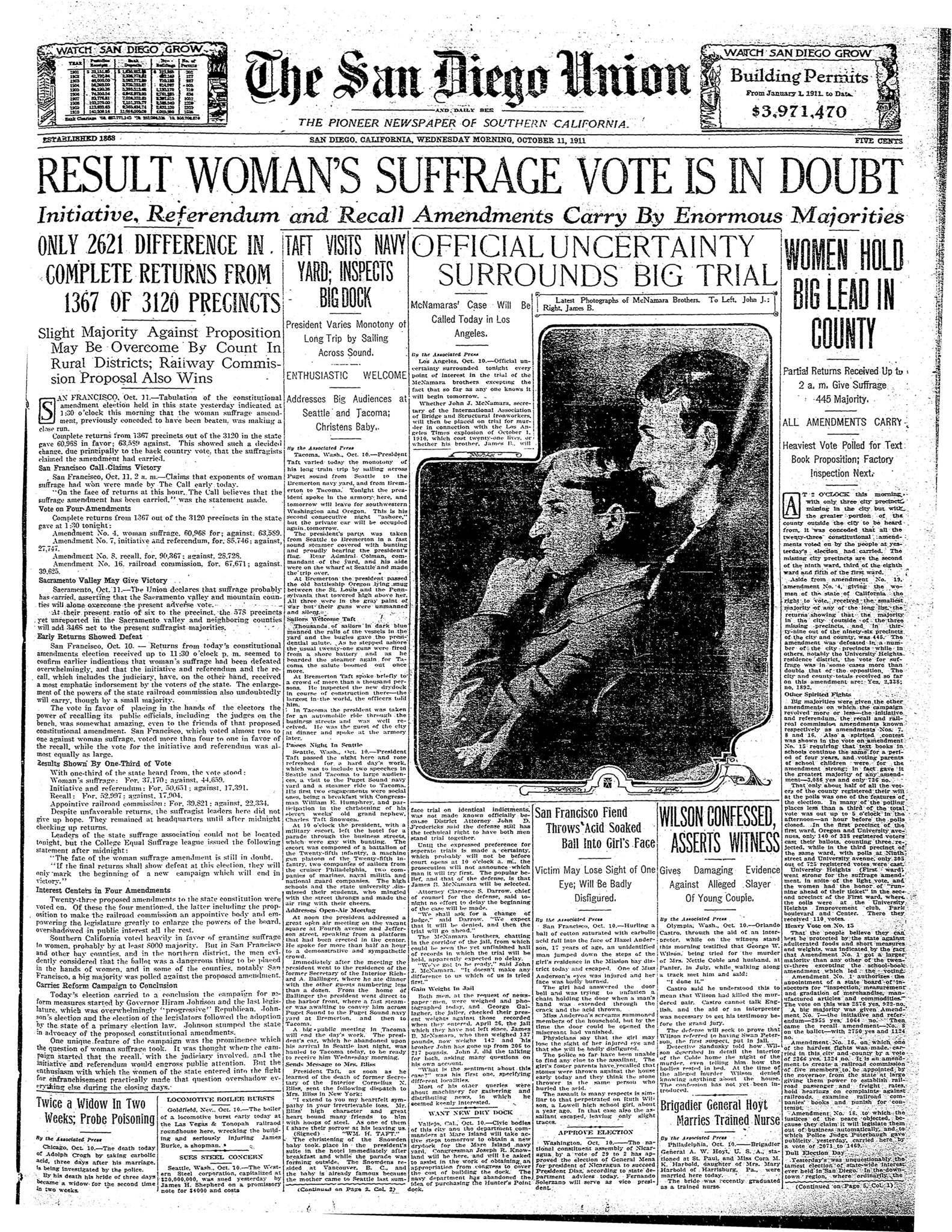 October 11, 1911