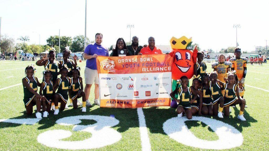 Orange Bowl Youth Football Alliance pays visit to Lauderhill Lions - Sun  Sentinel 84b0e4eff