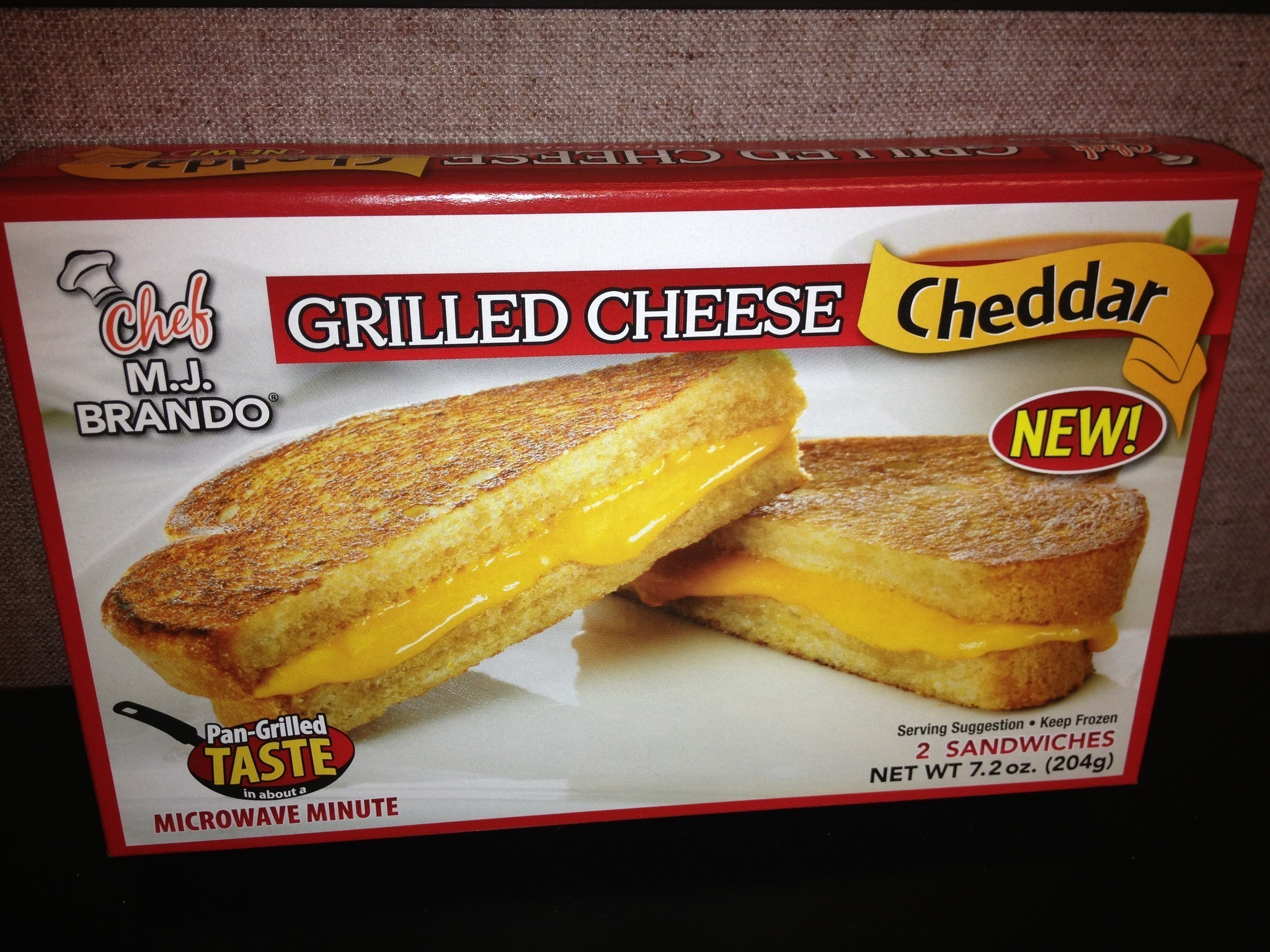Microwaveable Grilled Cheese Good Or