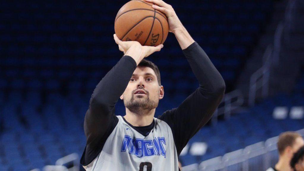 A toast to Nik Vucevic, who still loves playing for the