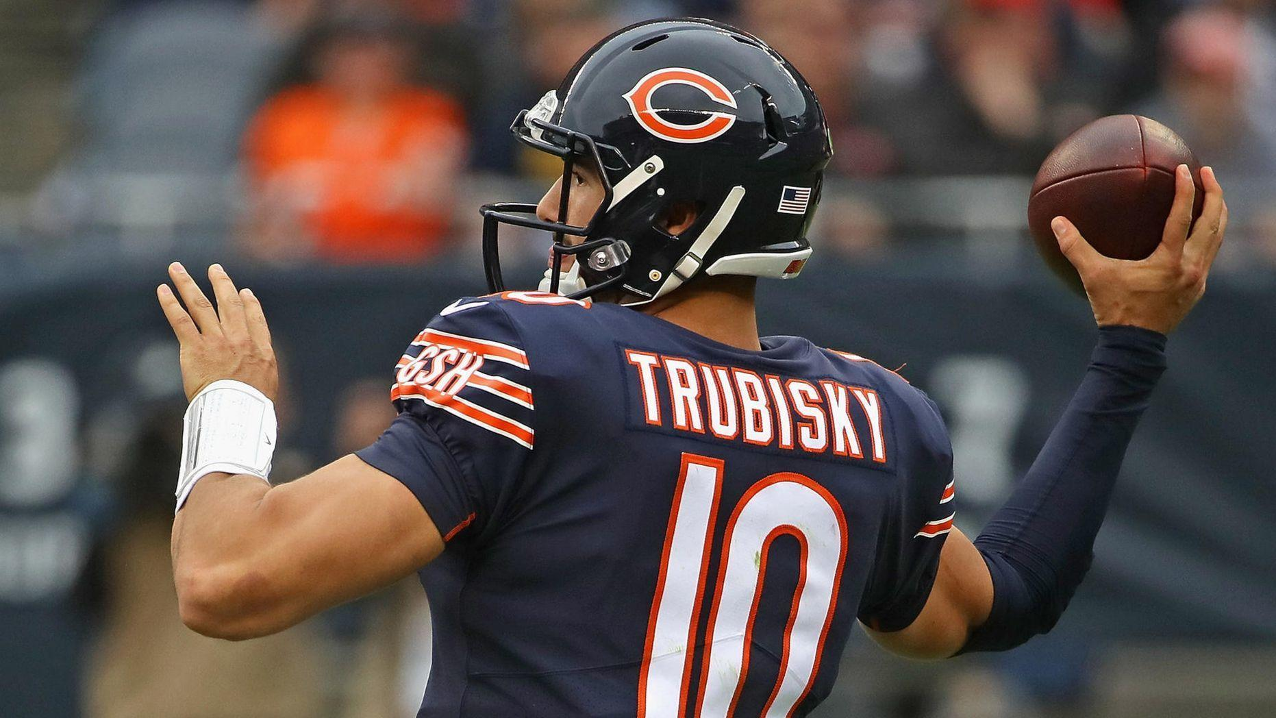 Bears Q A  Is the 6-touchdown game the ceiling for Mitch Trubisky  What  would make for a successful season after a 3-1 start  61945b028