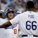 a8195952b Dodgers hit 3 home runs