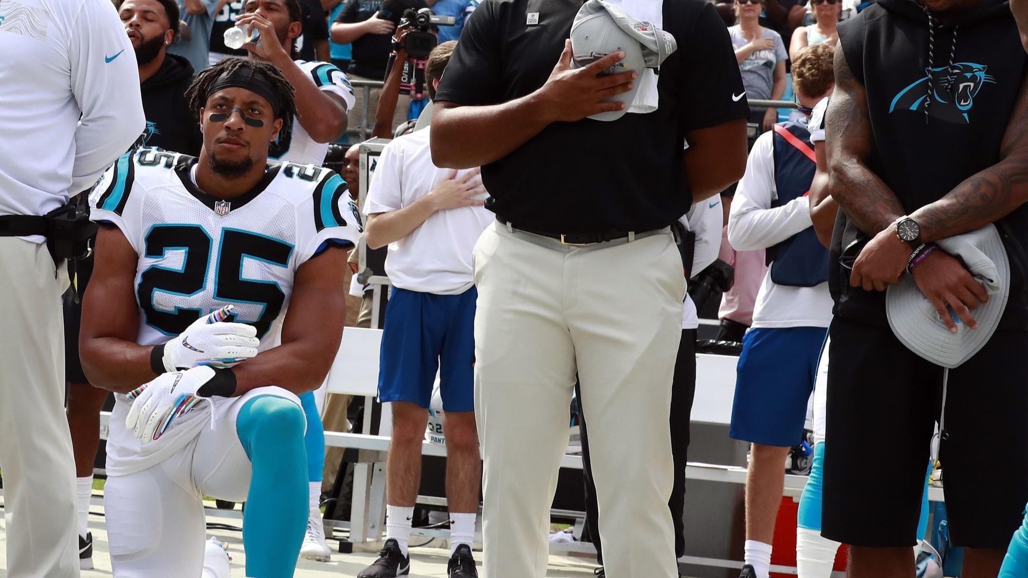 Carolina Panthers  Reid returns to NFL a976b6aa9