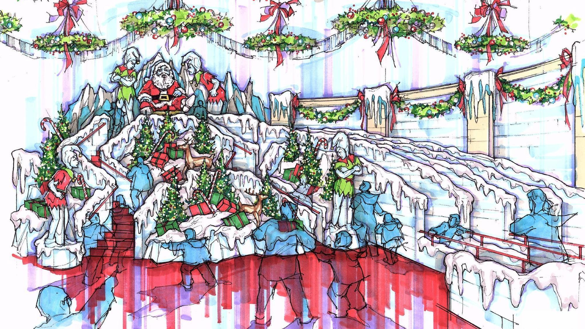 gaylord palms to tell a christmas story theme in ice orlando sentinel - Christmas At Gaylord Palms