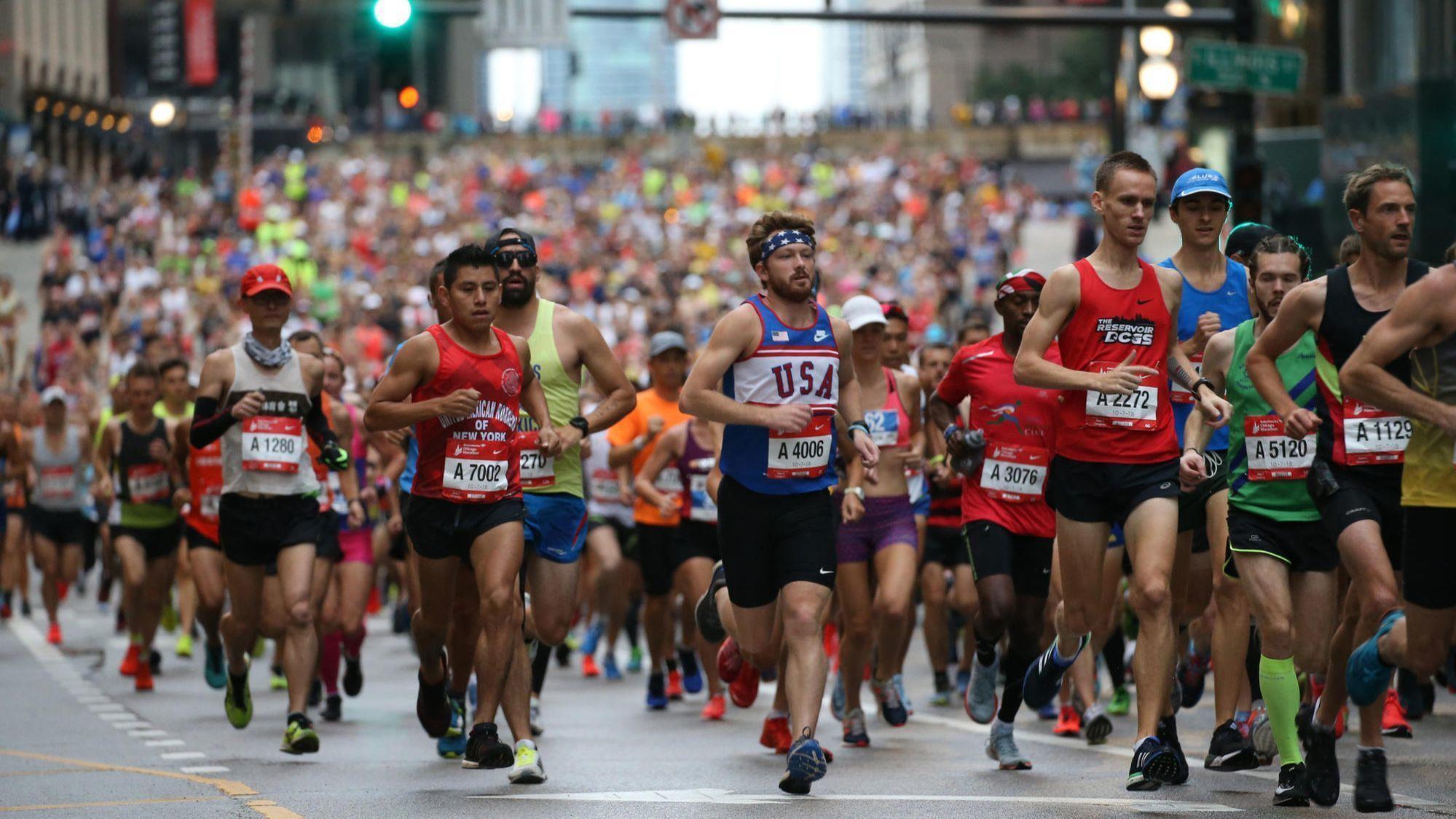Chicago marathon 2019 date in Perth