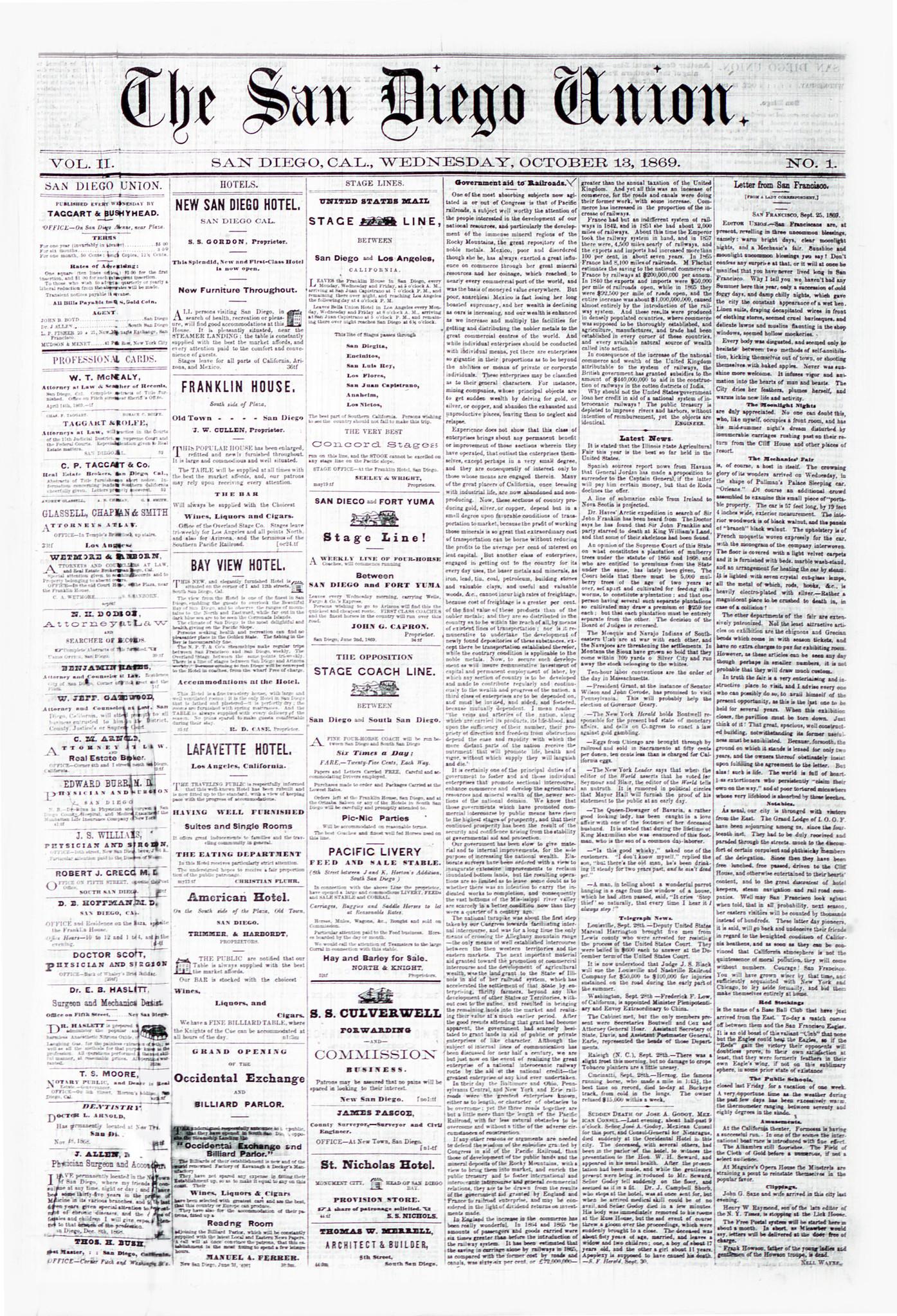 October 13, 1869